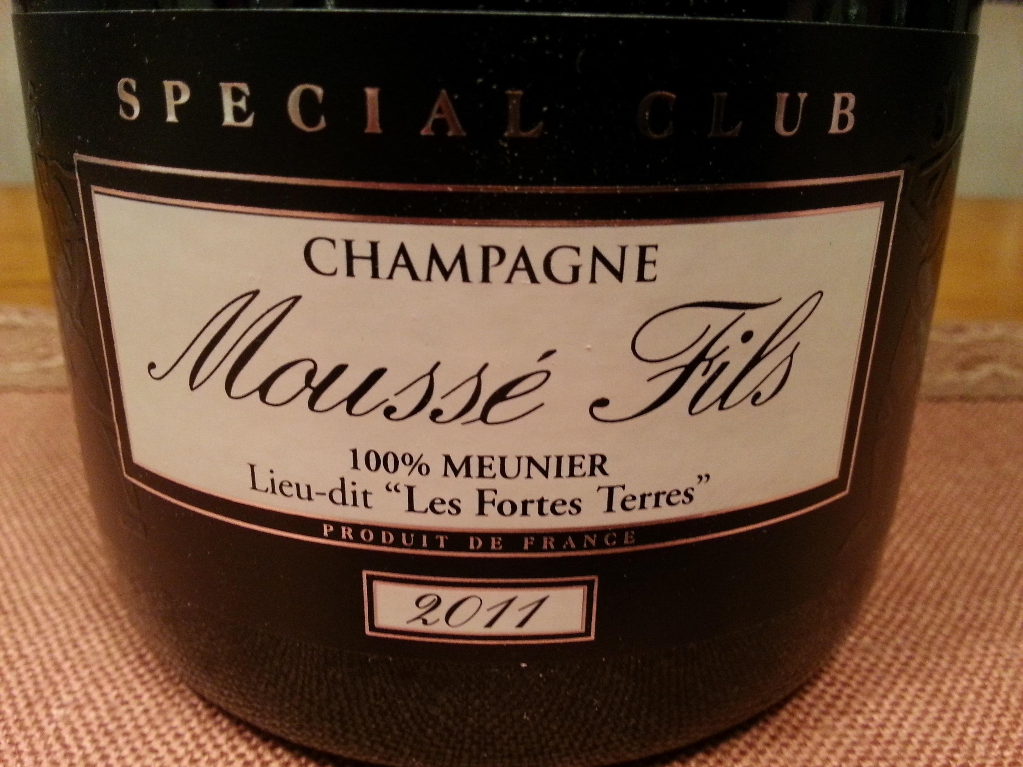2011 Champagne Special Club Les Fortes Terres | Moussé-Fils