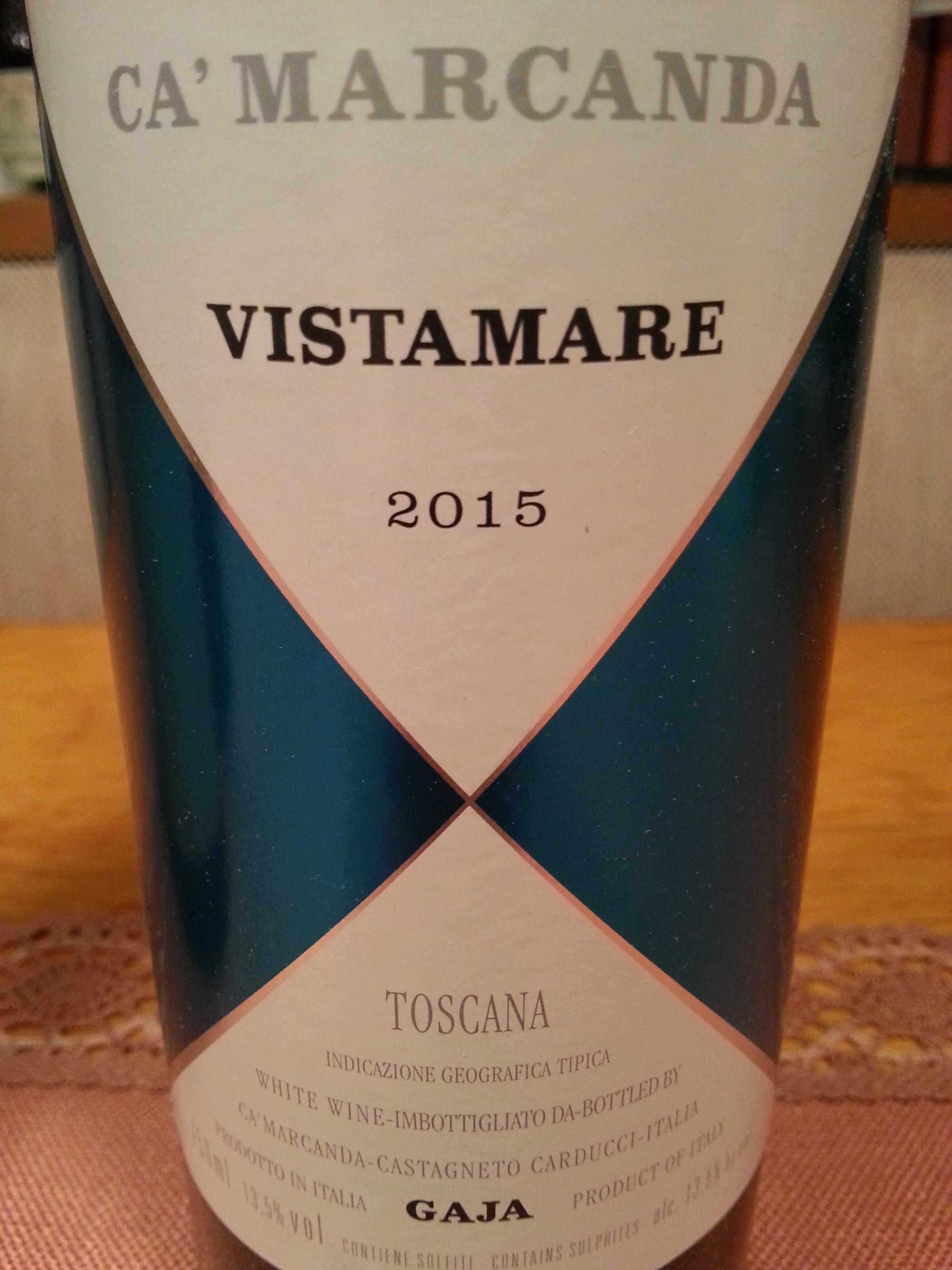 2015 Ca'Marcanda Vistamare Bianco | Gaja