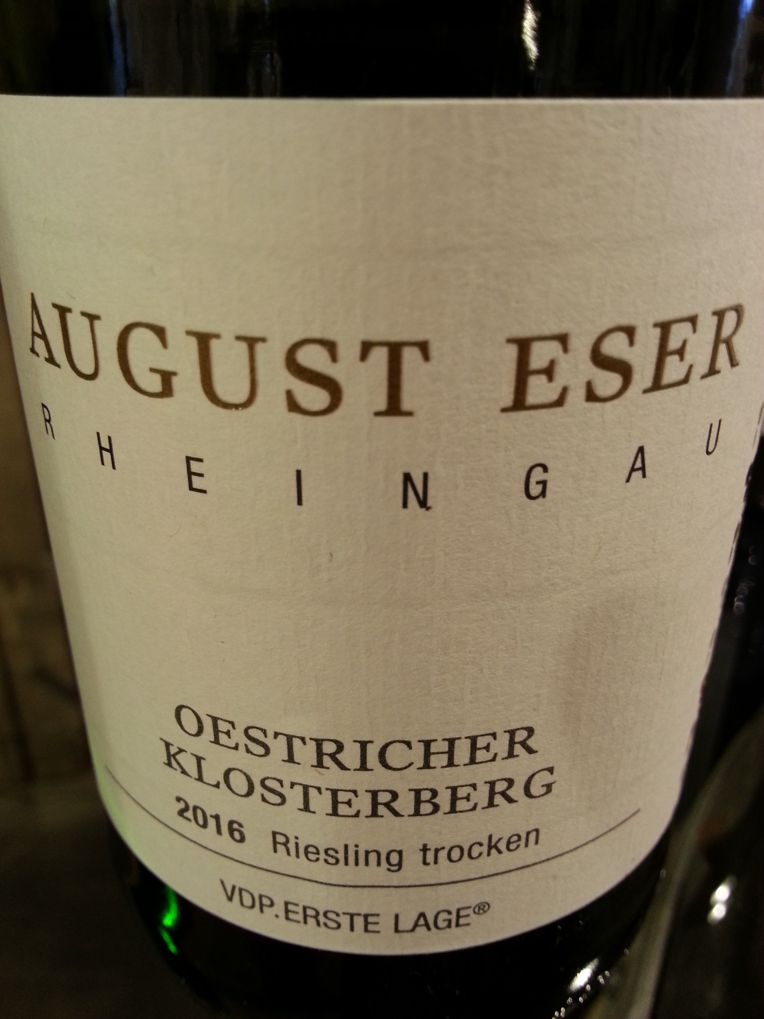 2016 Riesling Oestricher Klosterberg | Eser