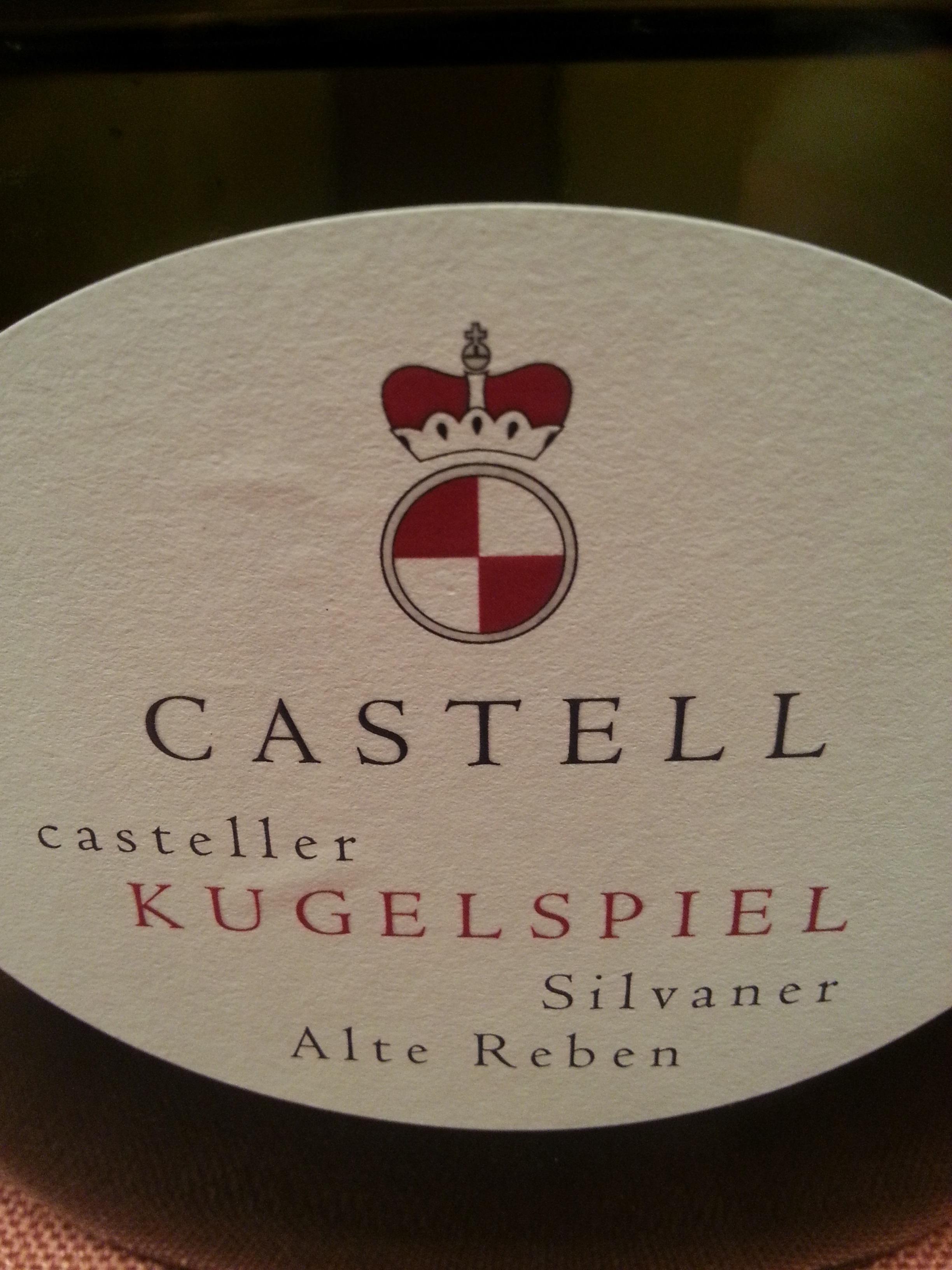 2016 Silvaner Kugelspiel | Castell