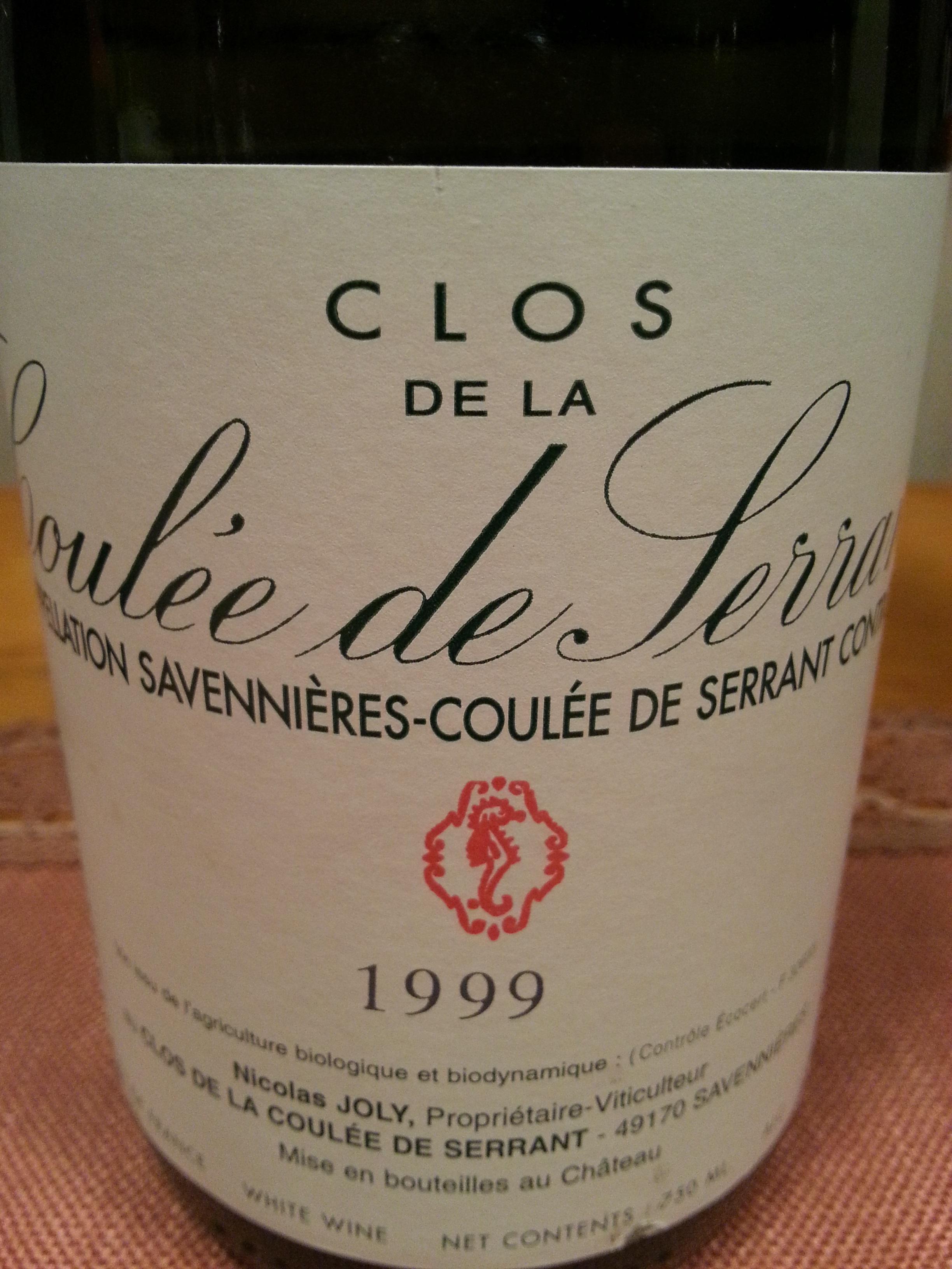 1999 Clos de la Coulée de Serrant | Joly