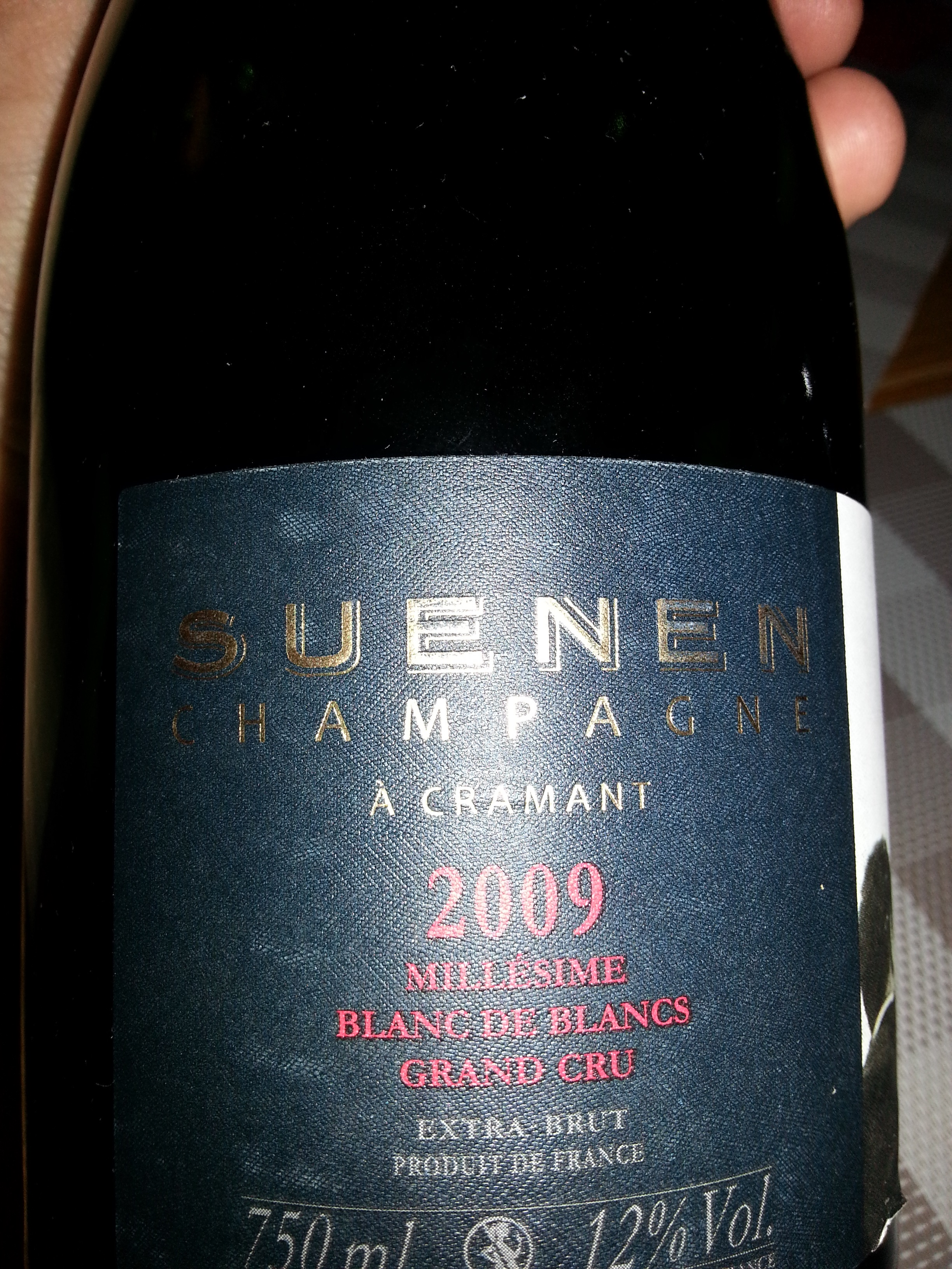 2009 Champagne Millésime BdB GC | Suenen