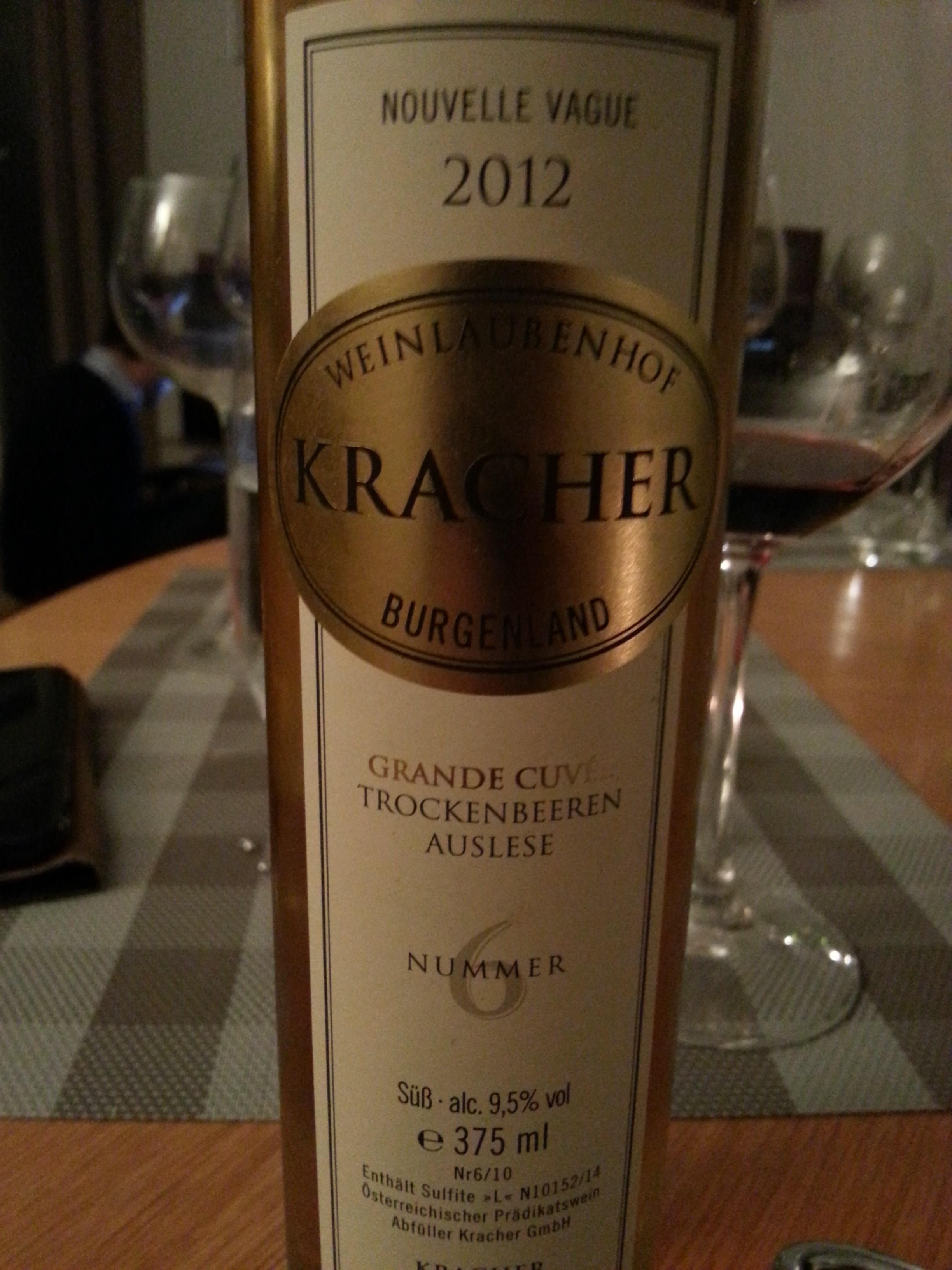 2012 Grande Cuvée TBA No. 6 | Kracher