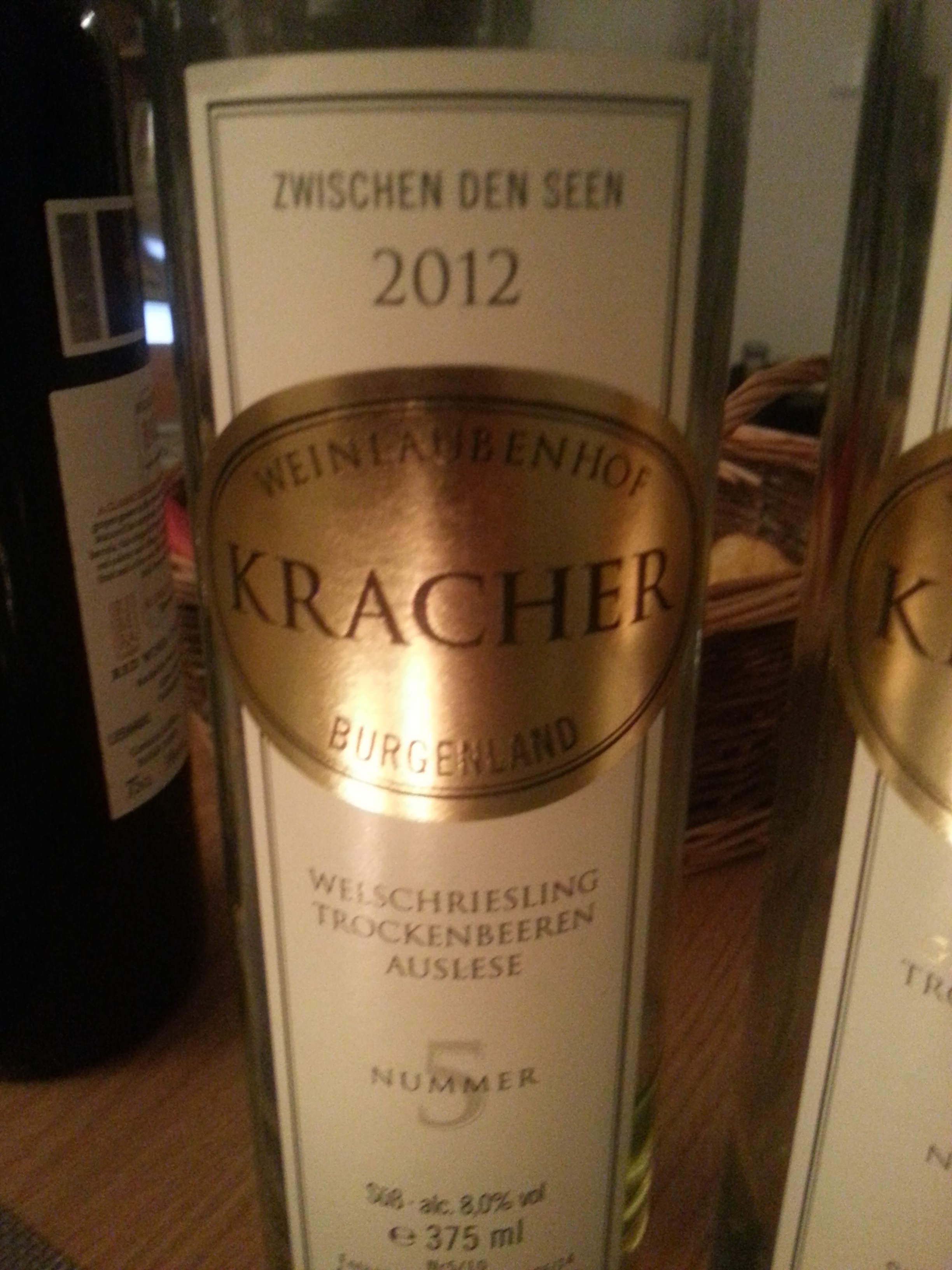 2012 Welschriesling TBA No. 5 | Kracher