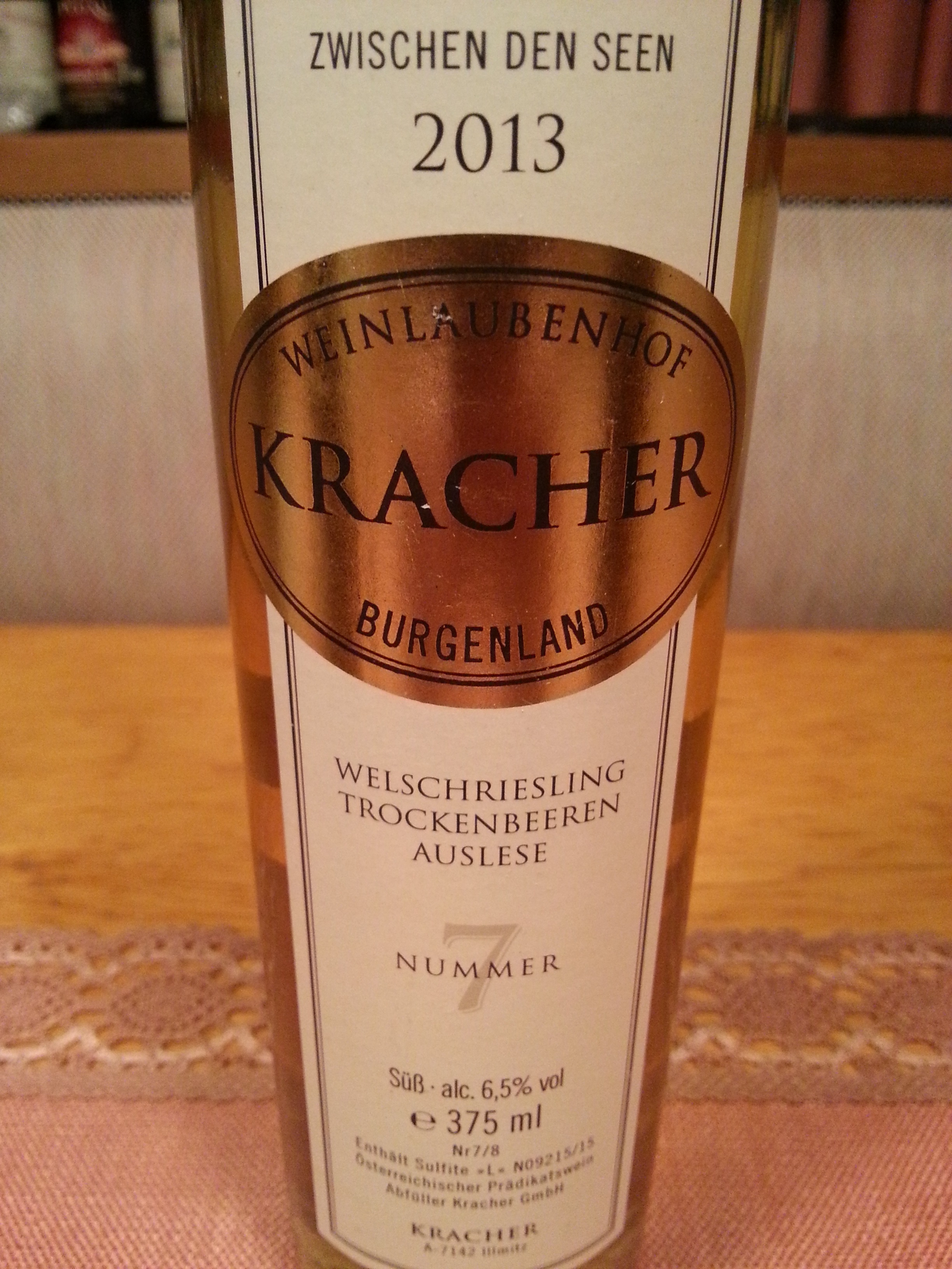 2013 Welschriesling TBA No. 7 | Kracher
