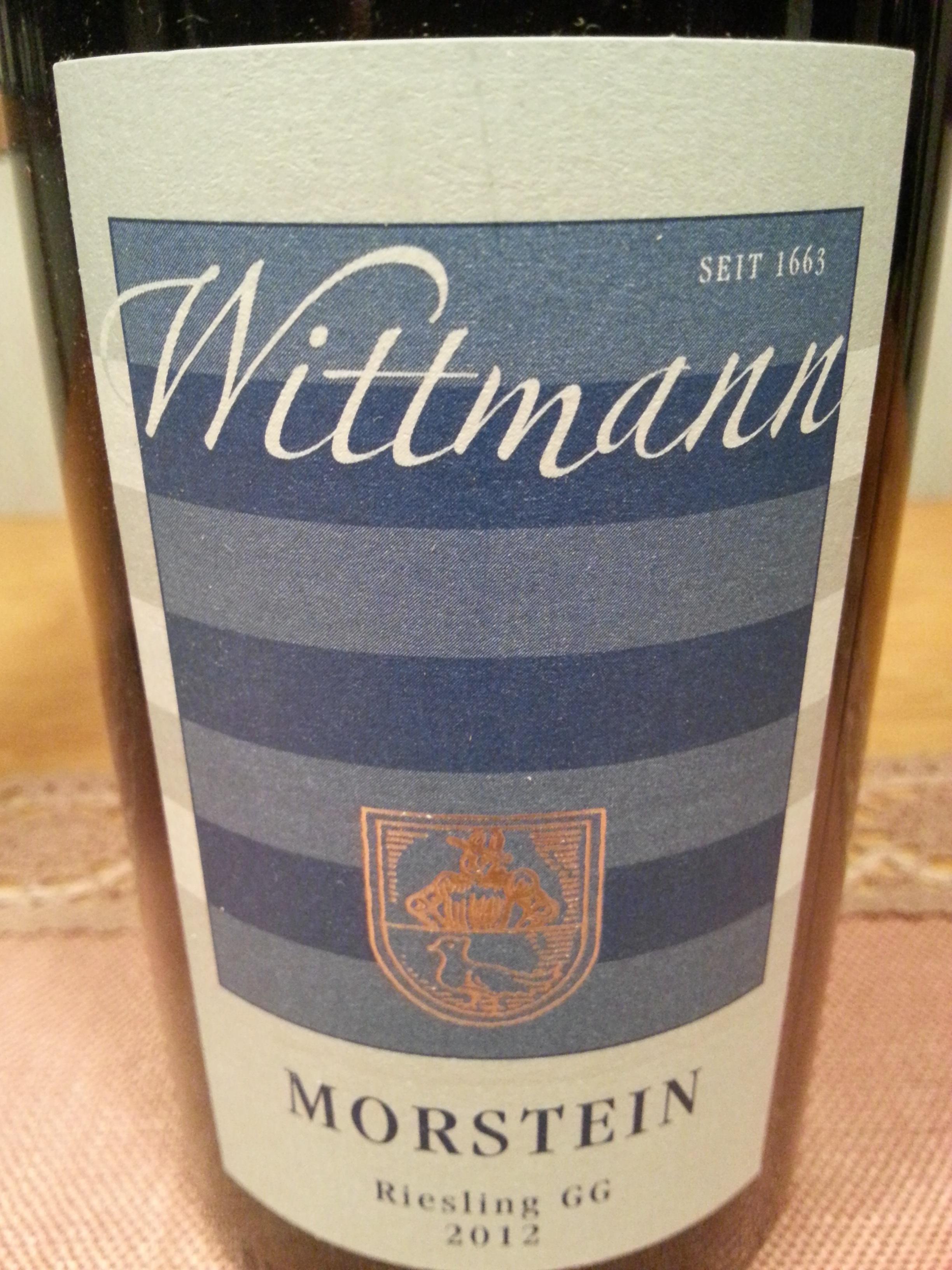 2012 Riesling Morstein GG | Wittmann