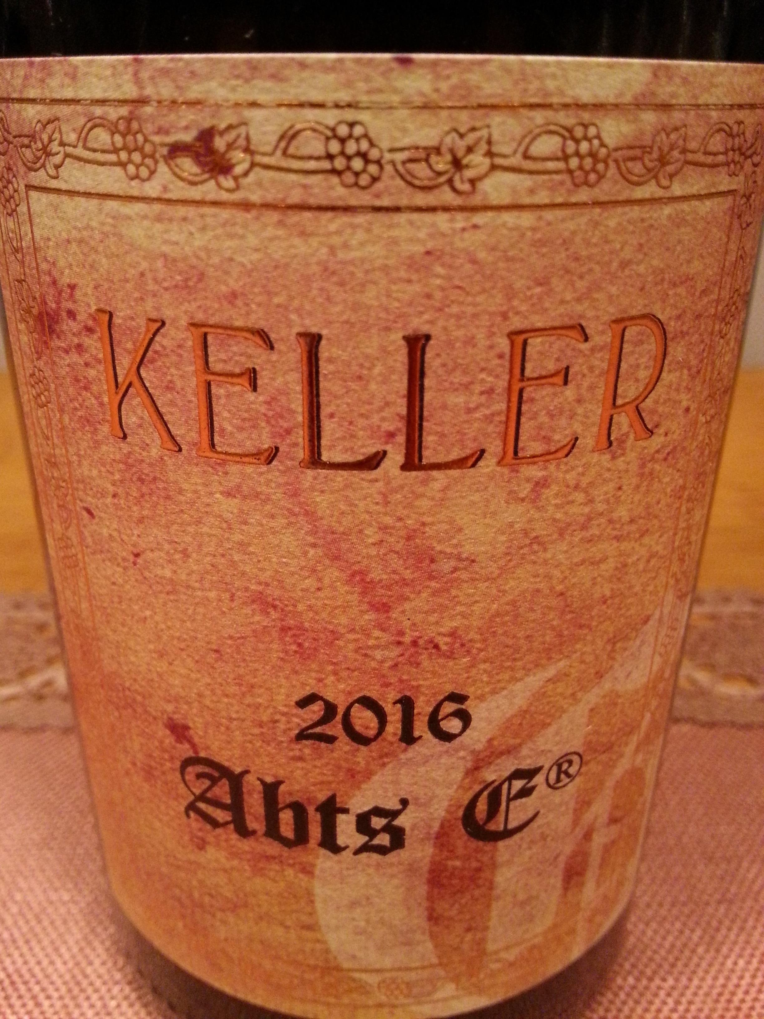 2016 Riesling Abtserde | Keller