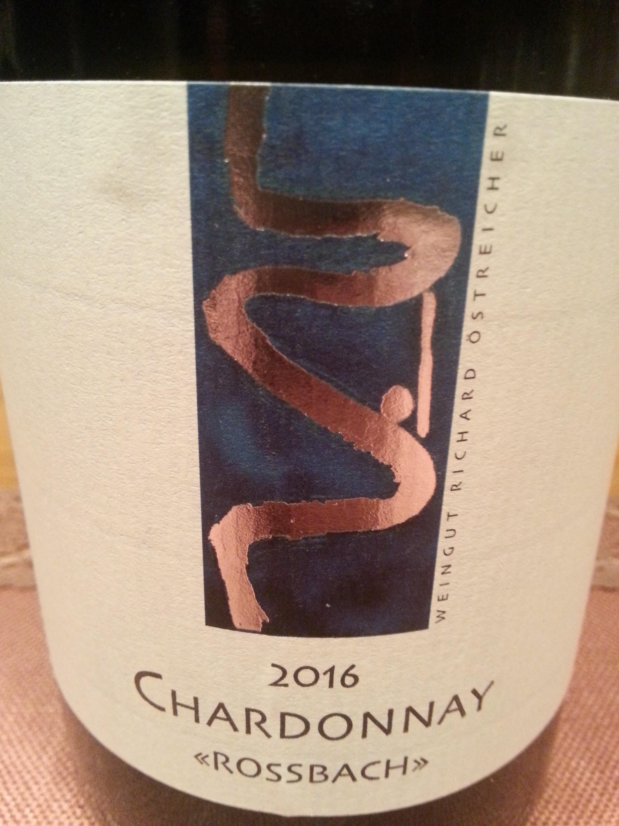 2016 Chardonnay Rossbach | Östreicher