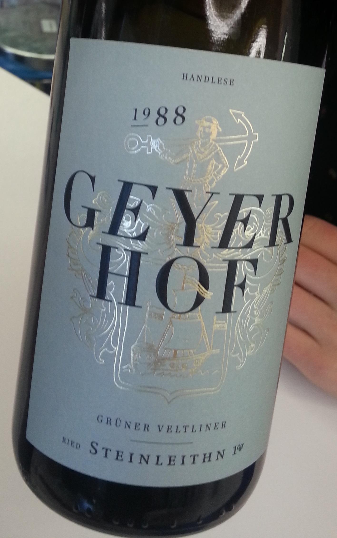 1988 Grüner Veltliner Ried Steinleithn | Geyerhof