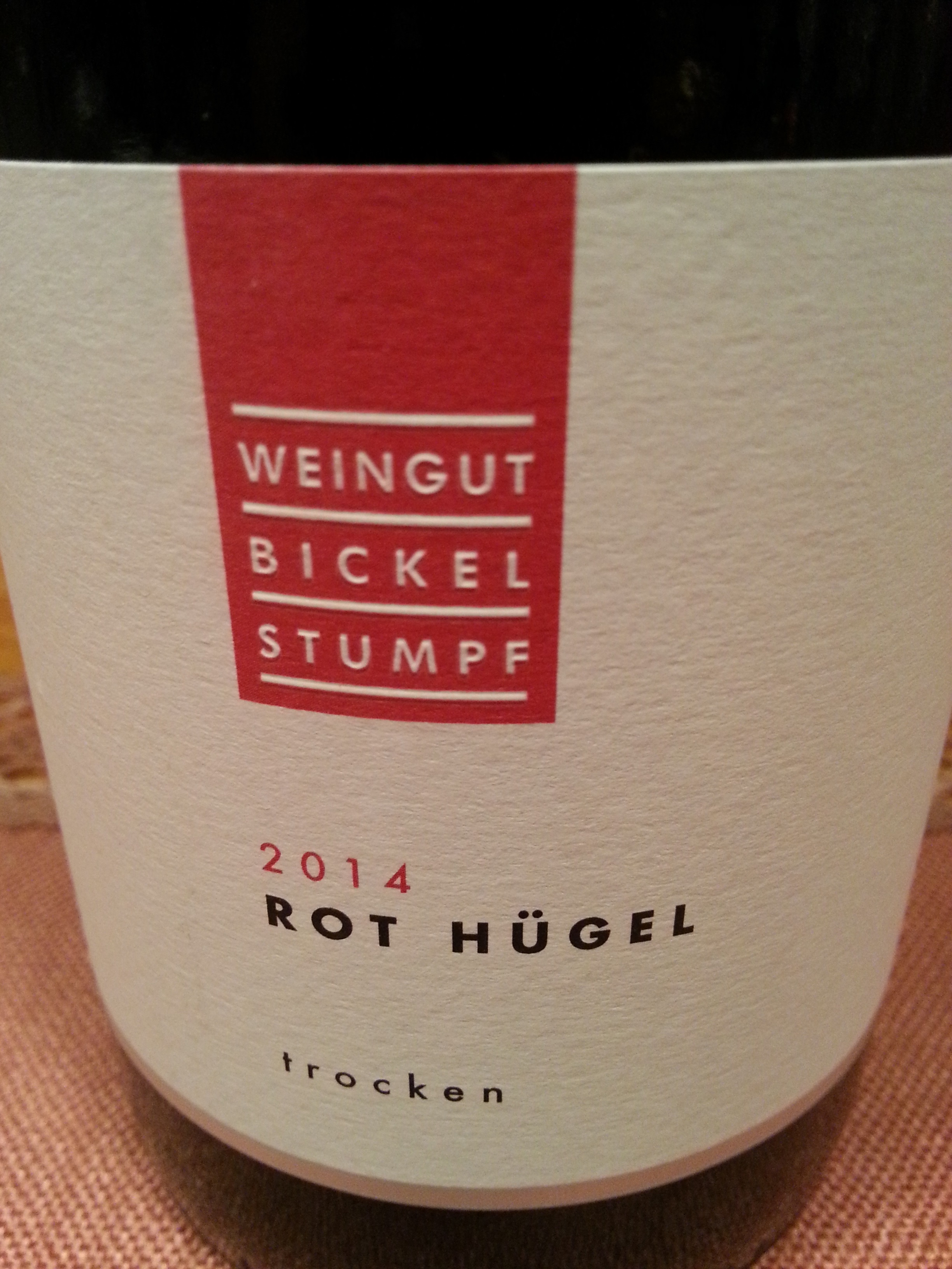 2014 Rot-Hügel | Bickel-Stumpf