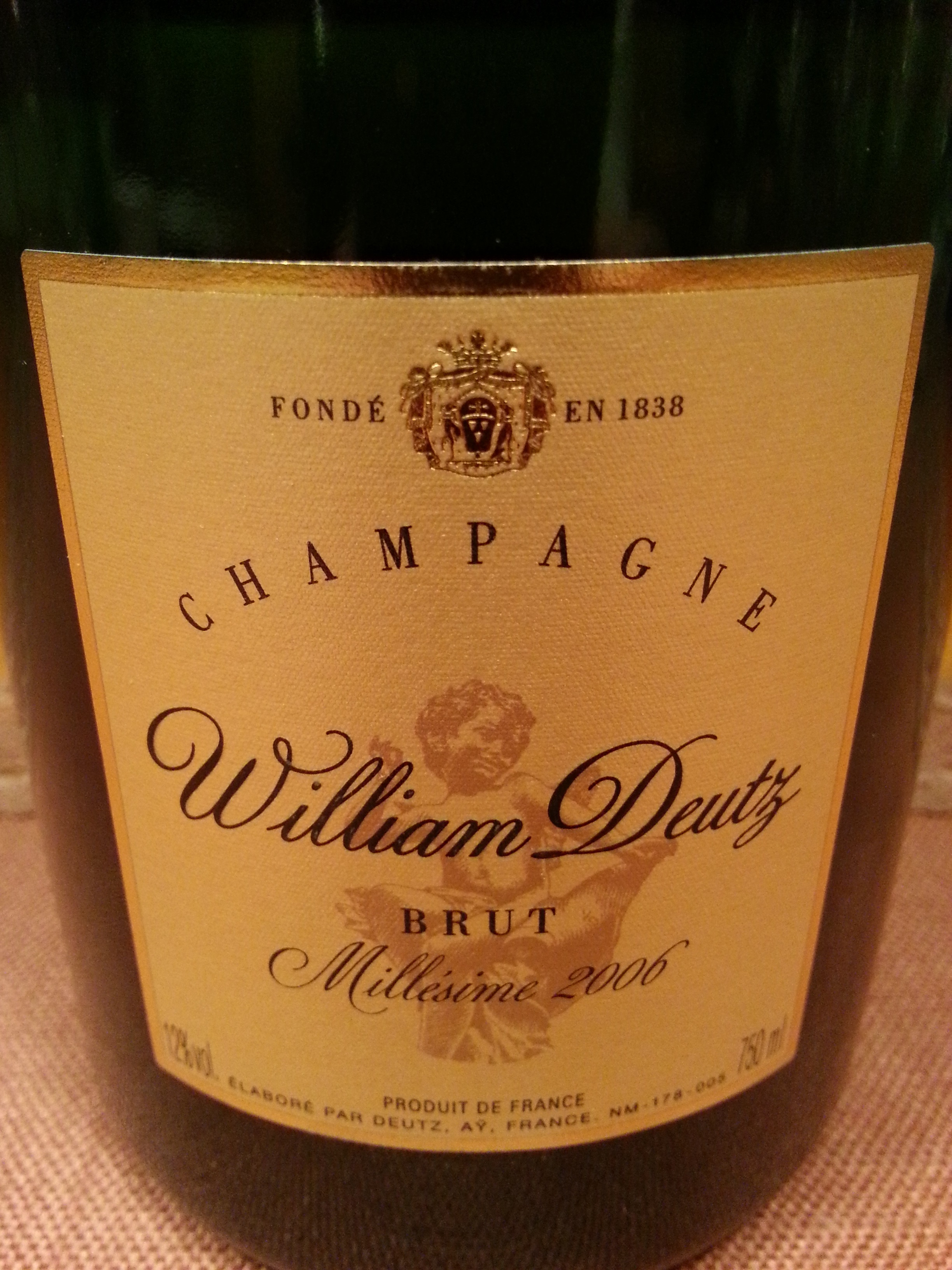 2006 Champagne William Deutz | Deutz