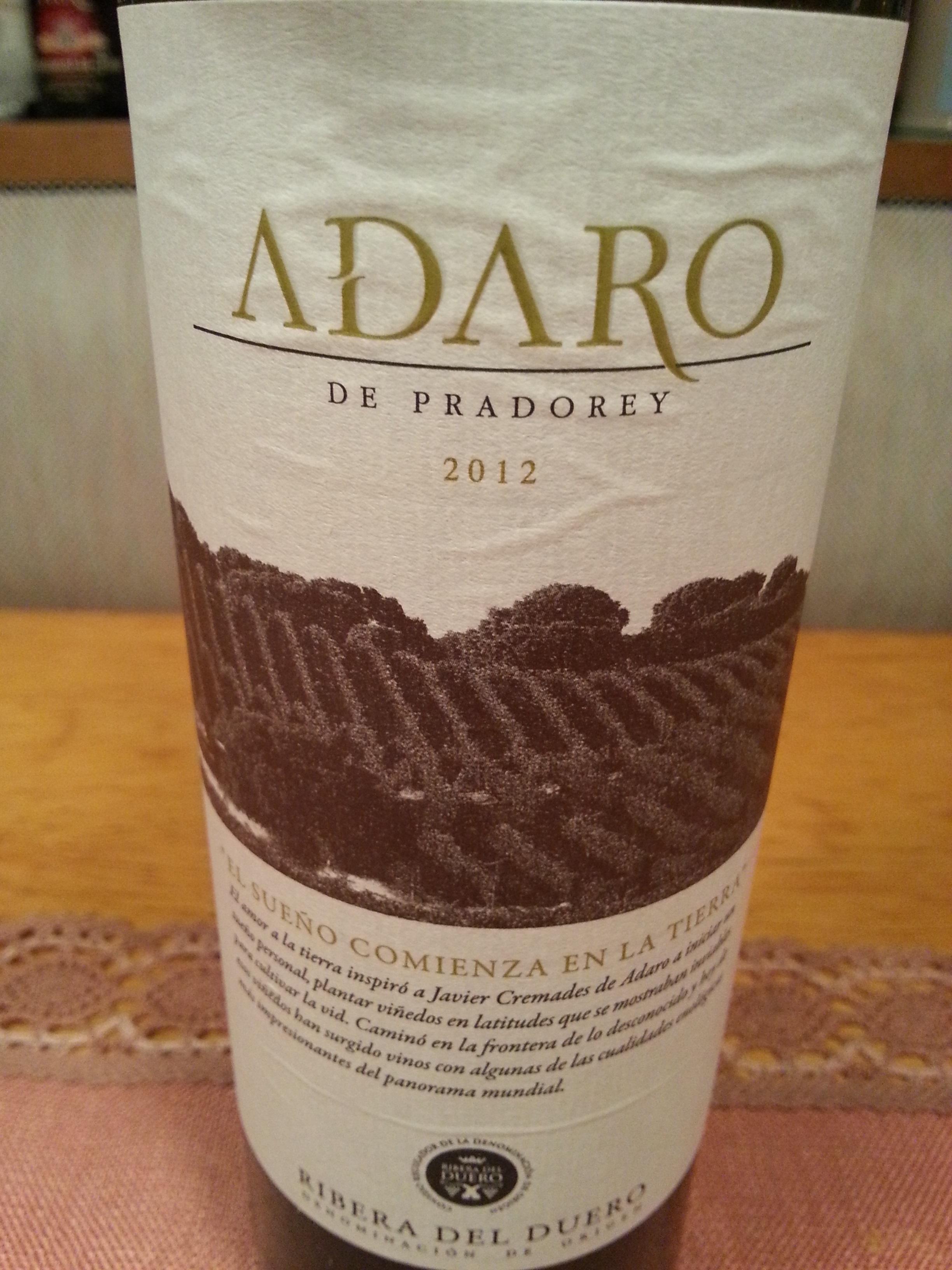 2012 Adaro | Prado Rey
