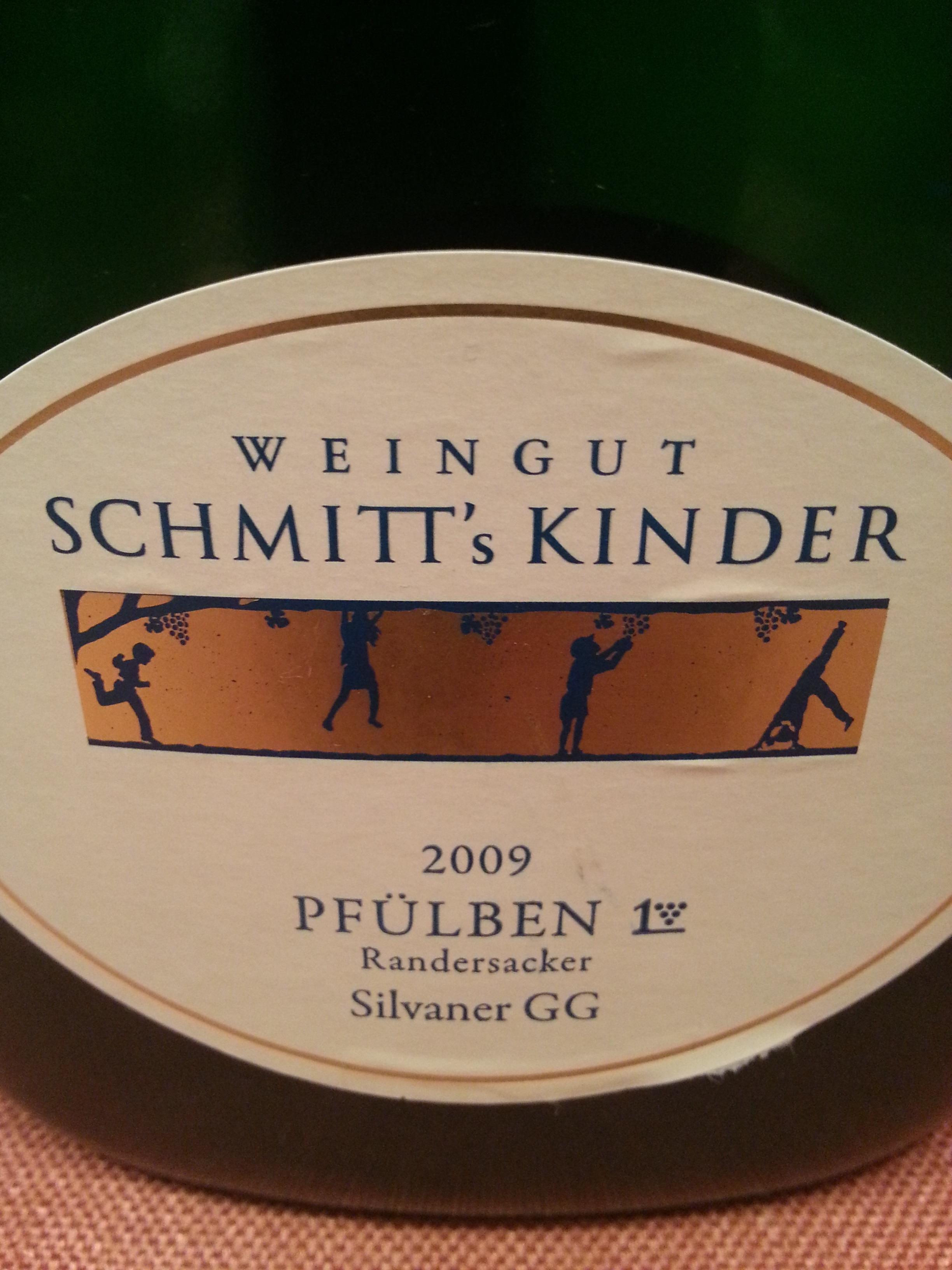 2009 Silvaner Randersacker Pfülben | Schmitt's Kinder