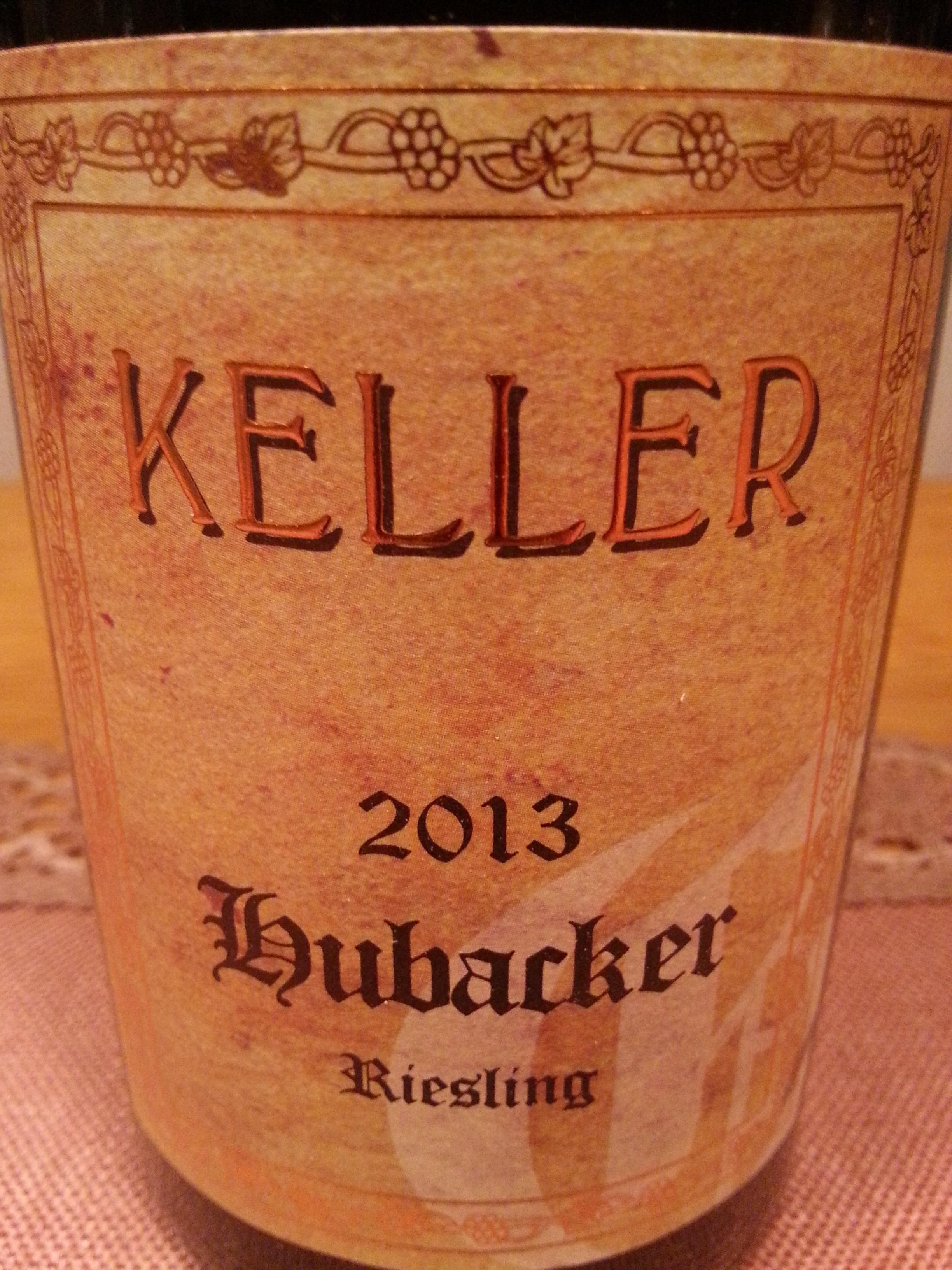 2013 Riesling Hubacker | Keller