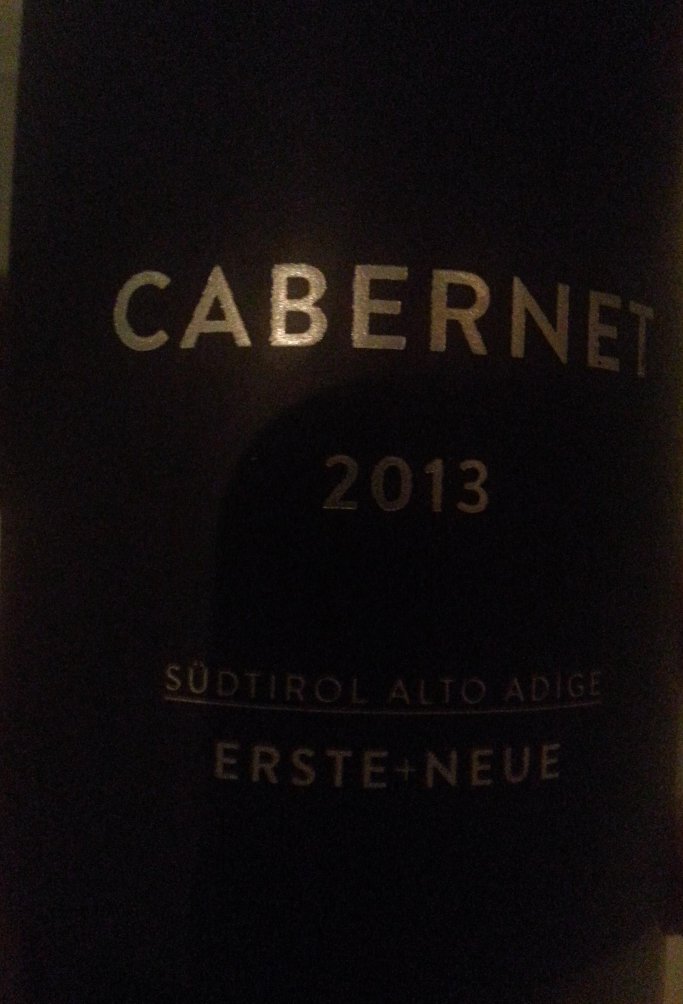 2013 Cabernet | Erste+Neue