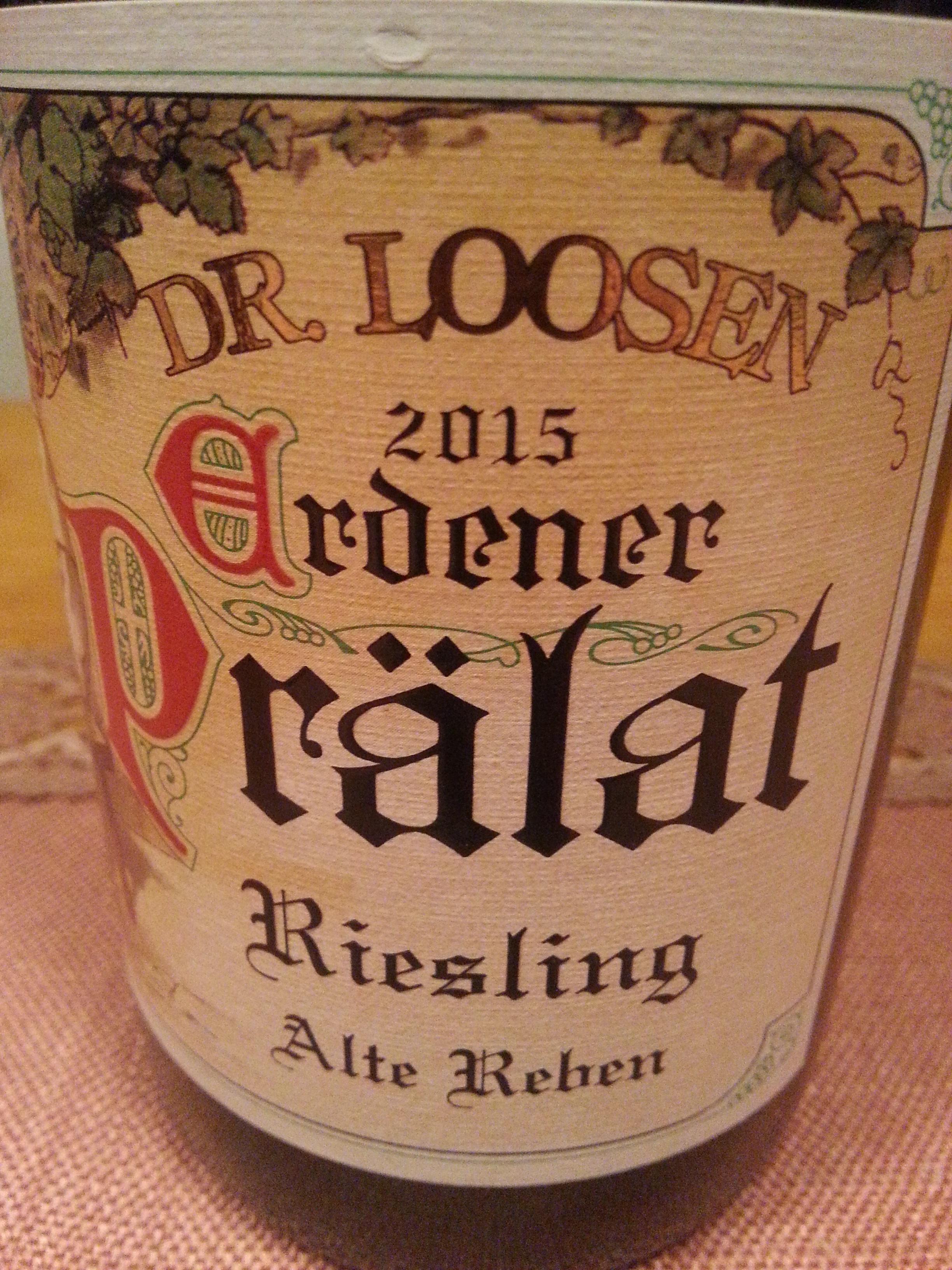 2015 Riesling Erdener Prälat GG | Loosen