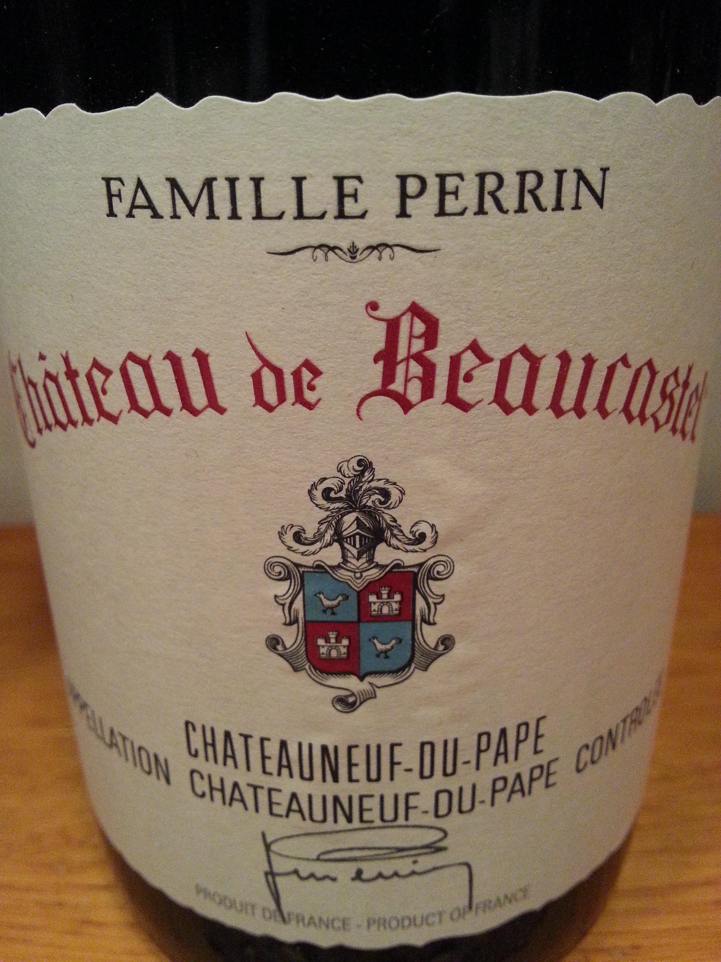 2010 Châteauneuf-du-Pape | Beaucastel