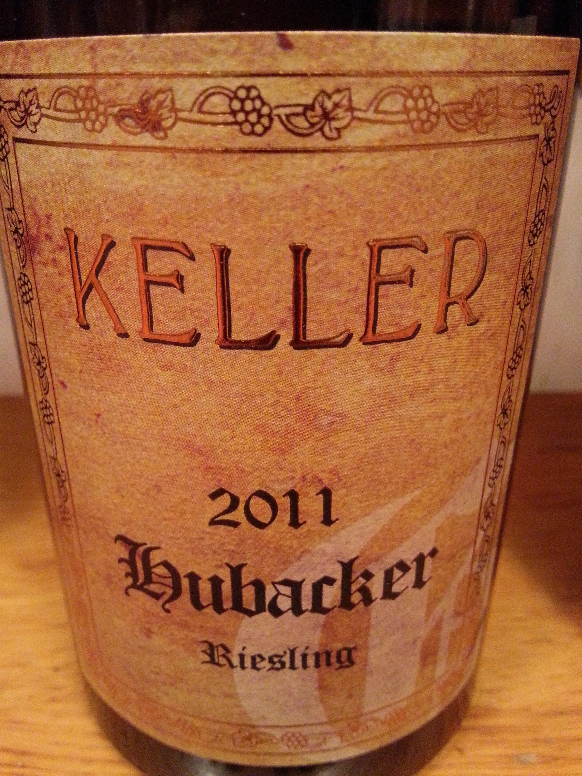 2011 Riesling Hubacker | Keller