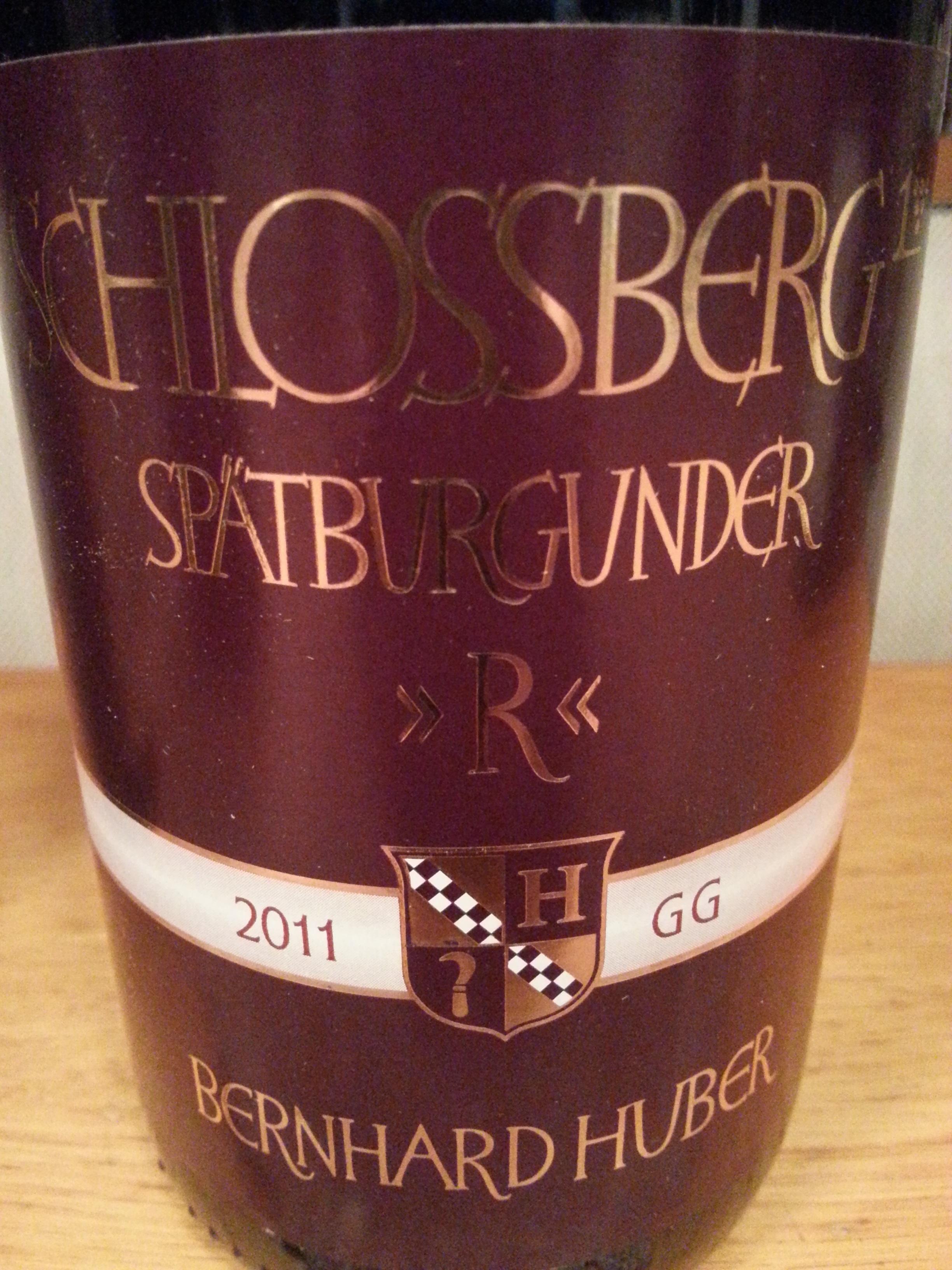 2011 Spätburgunder Hecklinger Schlossberg | Huber