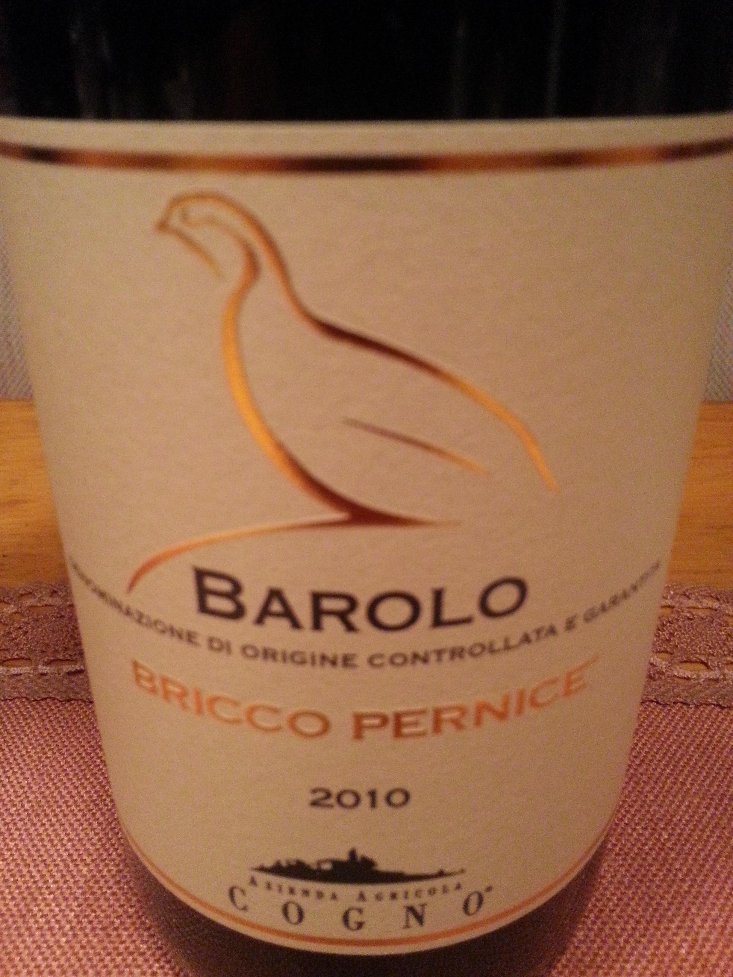 2010 Barolo Bricco Pernice | Cogno