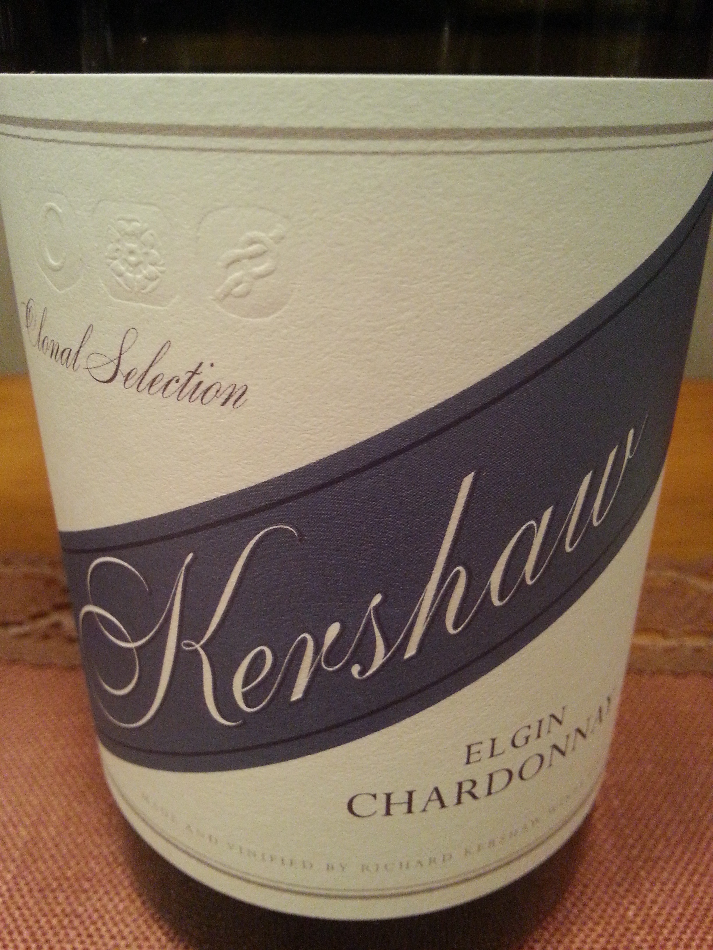 2015 Chardonnay Clonal Selection | Kershaw