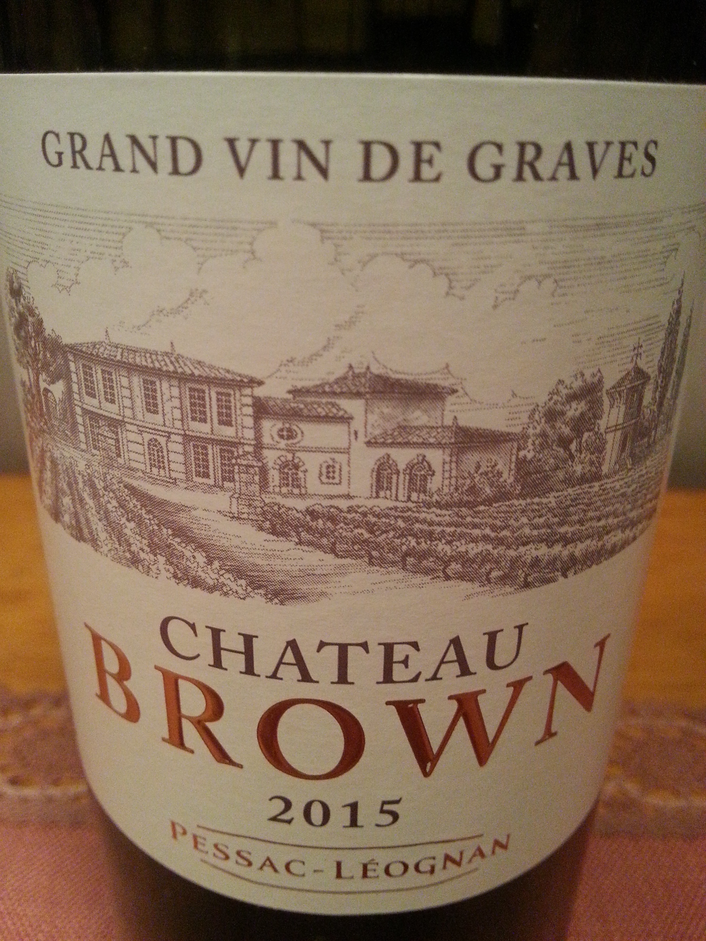 2015 Château Brown blanc | Château Brown