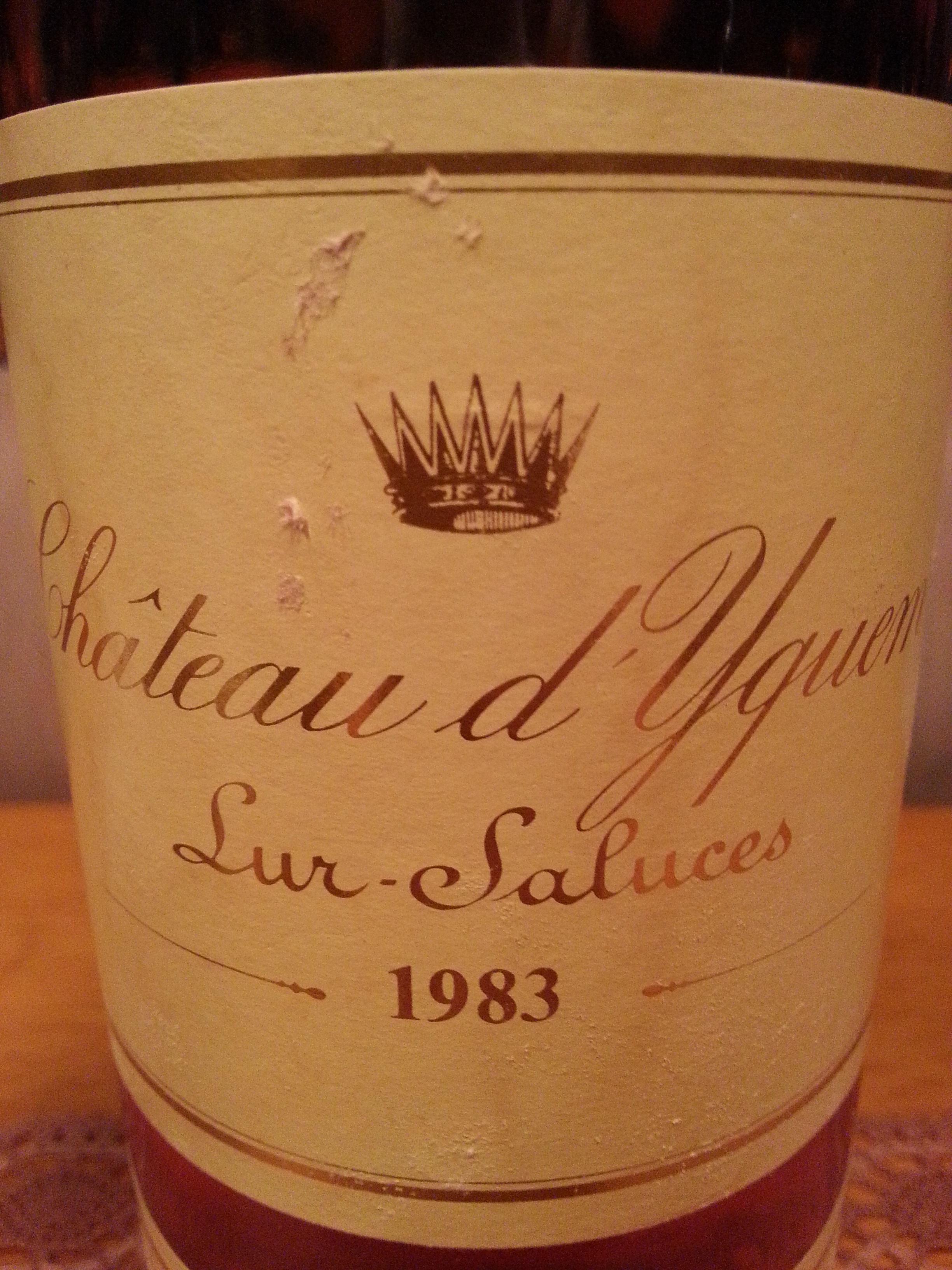 1983 Château d'Yquem | Château d'Yquem