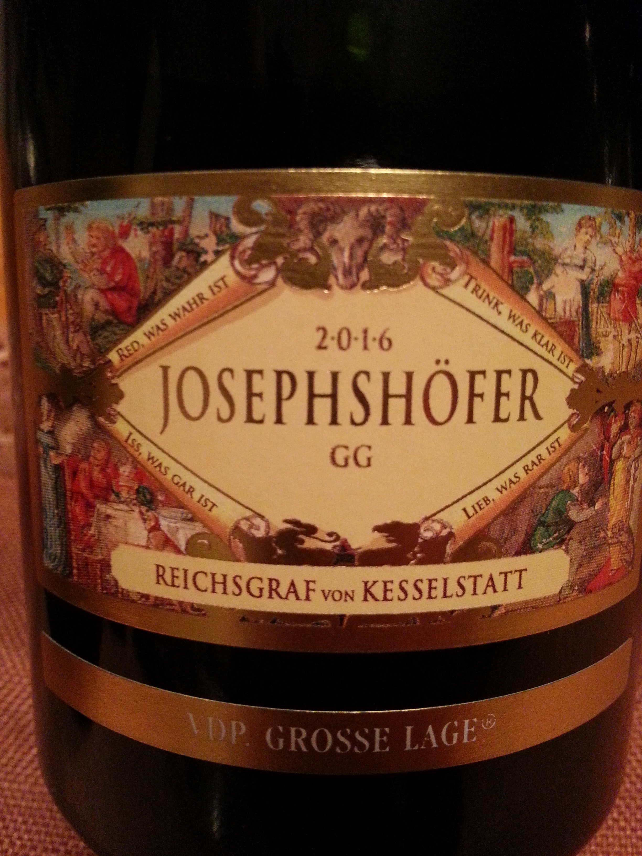 2016 Riesling Josephshöfer GG | Kesselstatt
