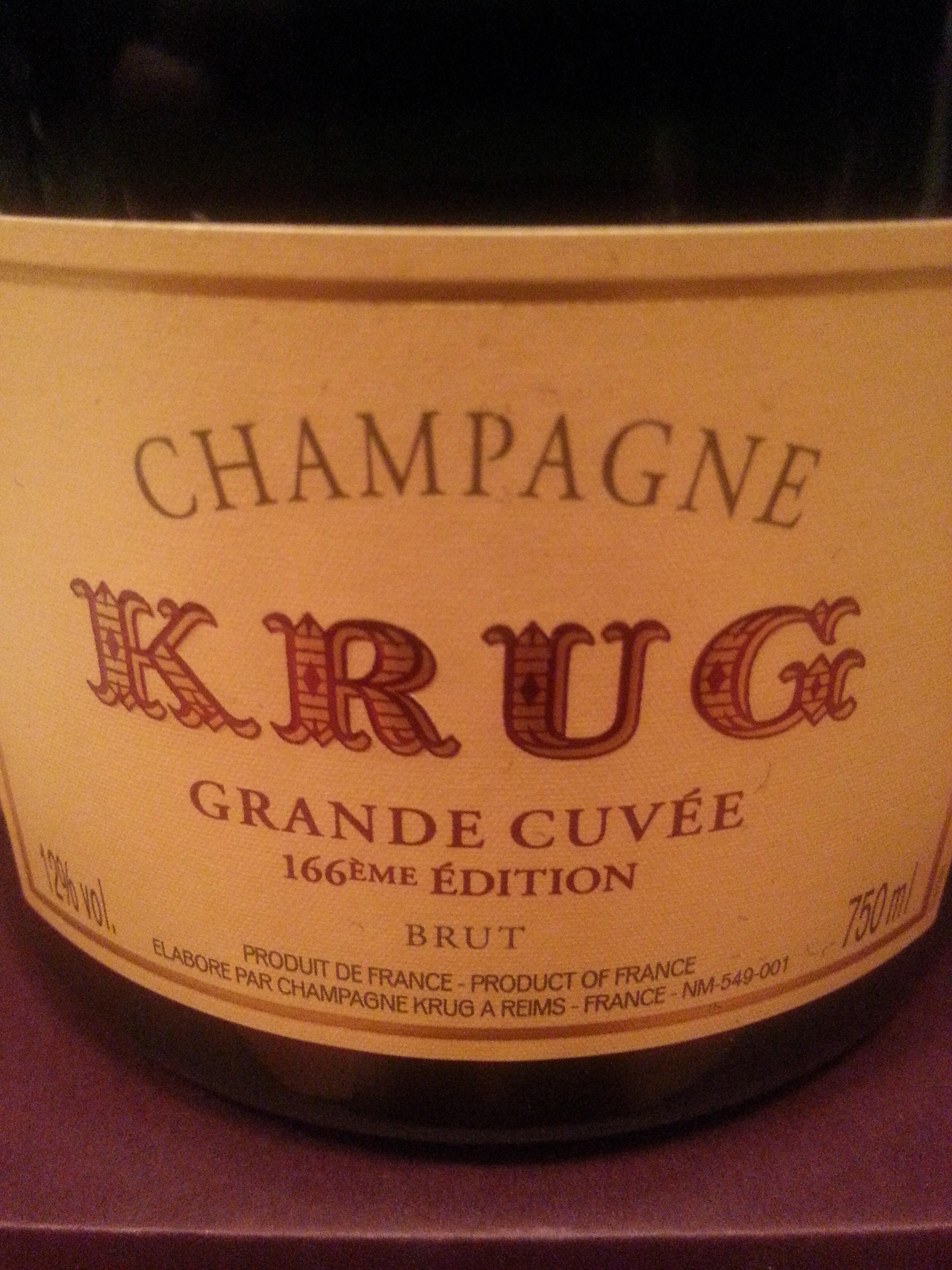 -nv- 166ème Champagne La Grande Cuvée | Krug