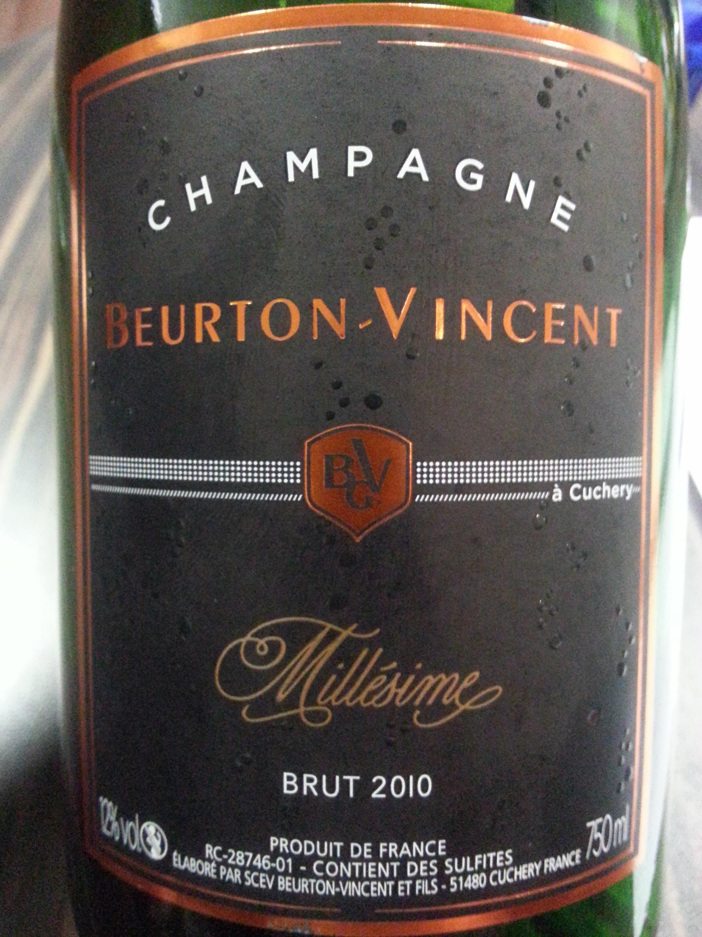 2010 Beurton-Vincent Brut Millésimé   Beurton-Vincent