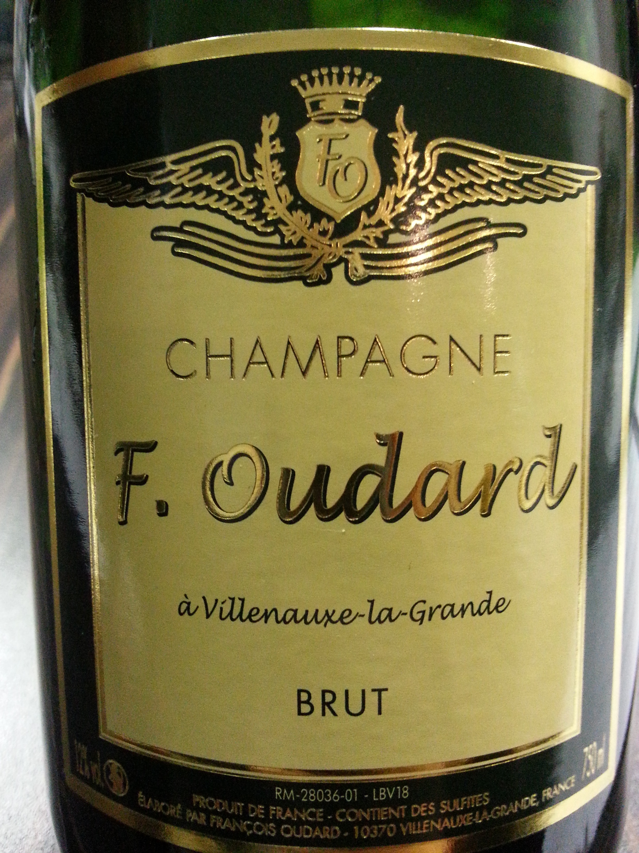 -nv- Champagne Oudart Brut   Oudart