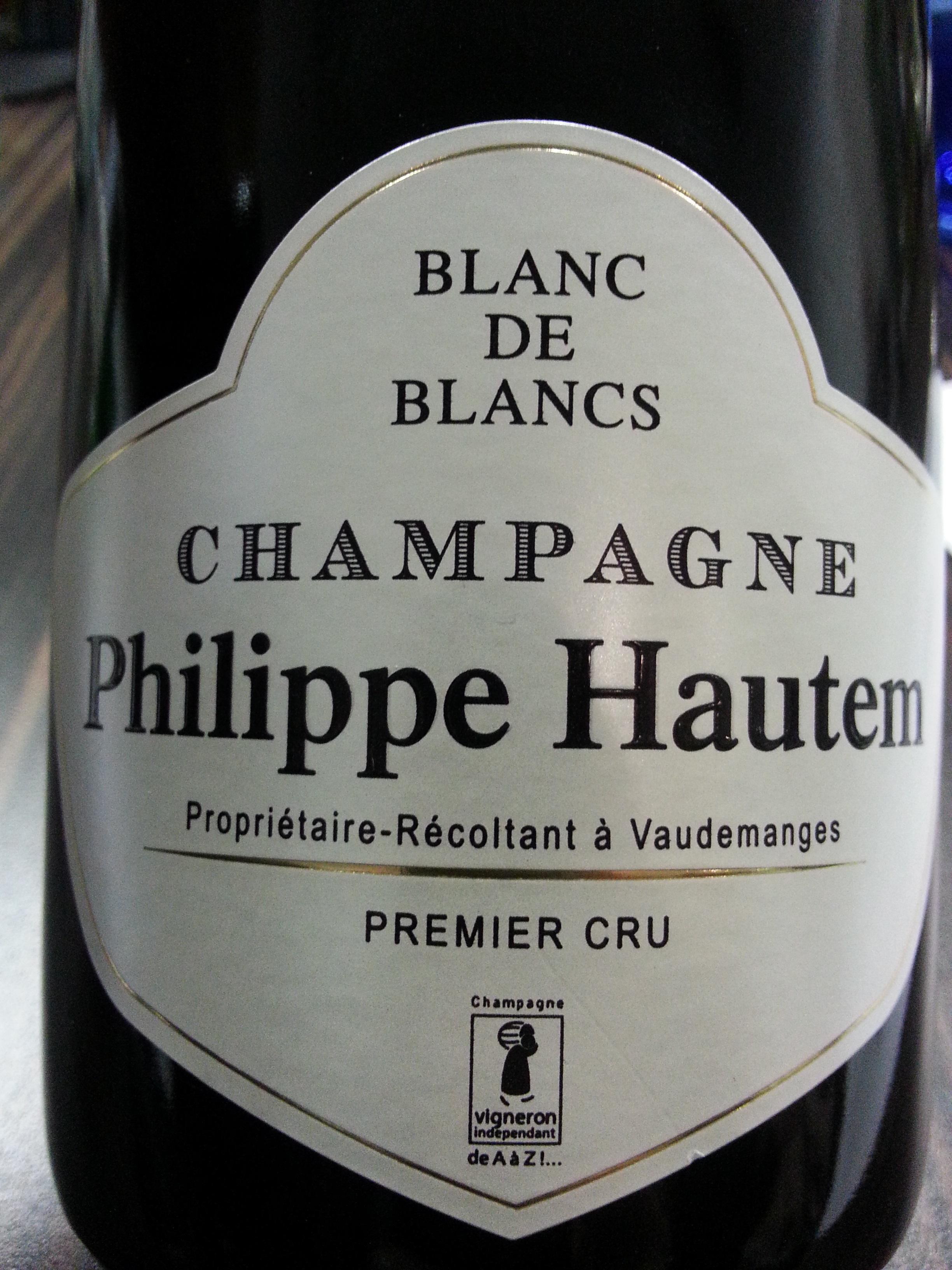 -nv- Champagne Philippe Hautem 1er Cru Brut BdB   Philippe Hautem