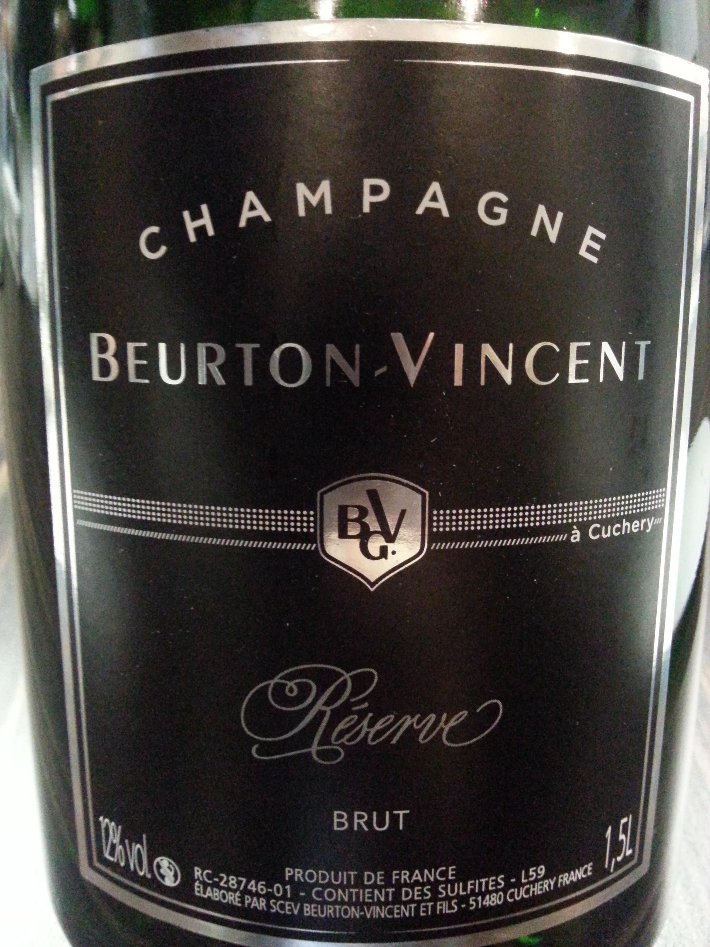 -nv- Champagne Réserve Beurton-Vincent | Beurton-Vincent