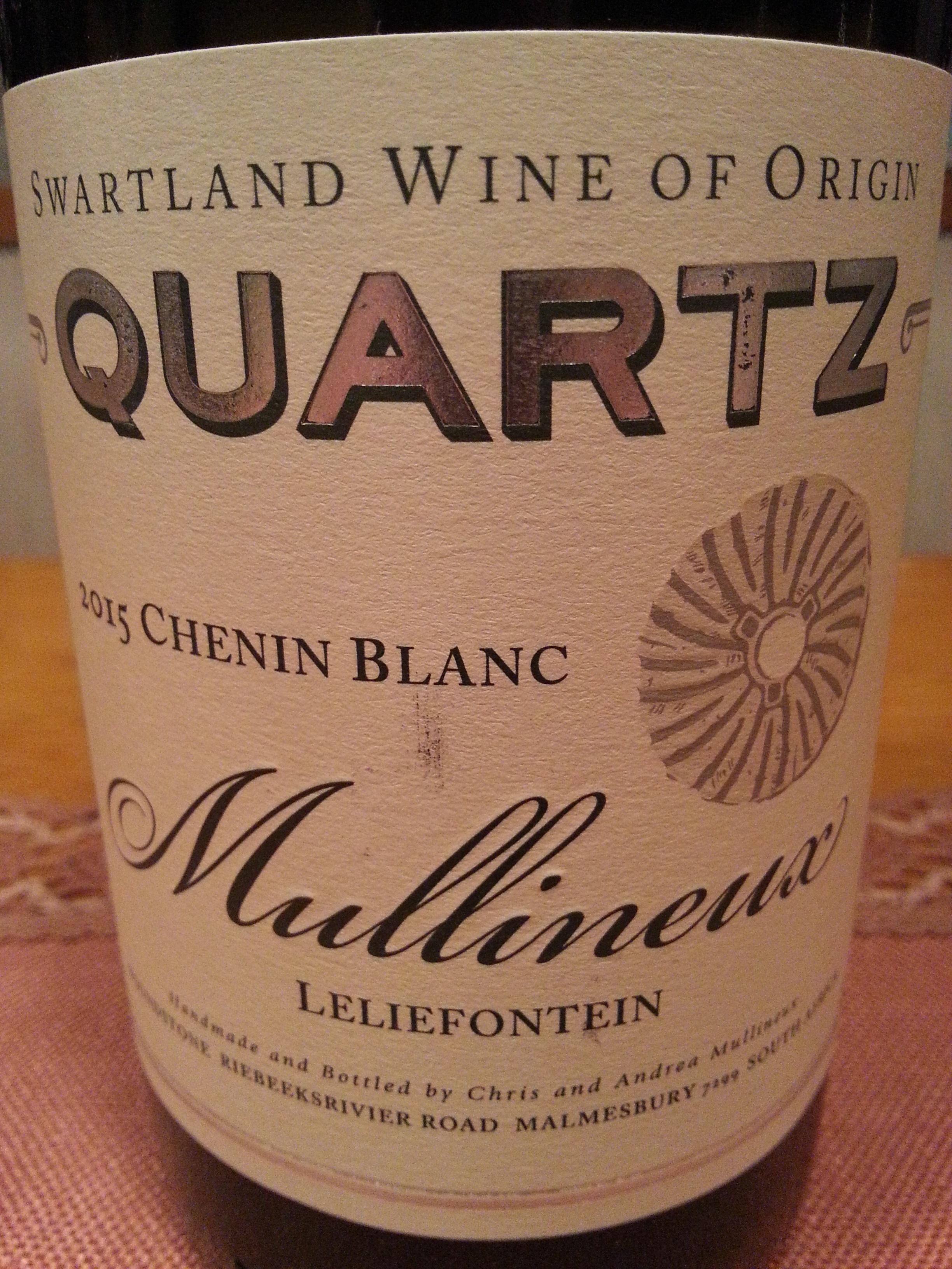 2015 Chenin Blanc Quartz | Mullineux