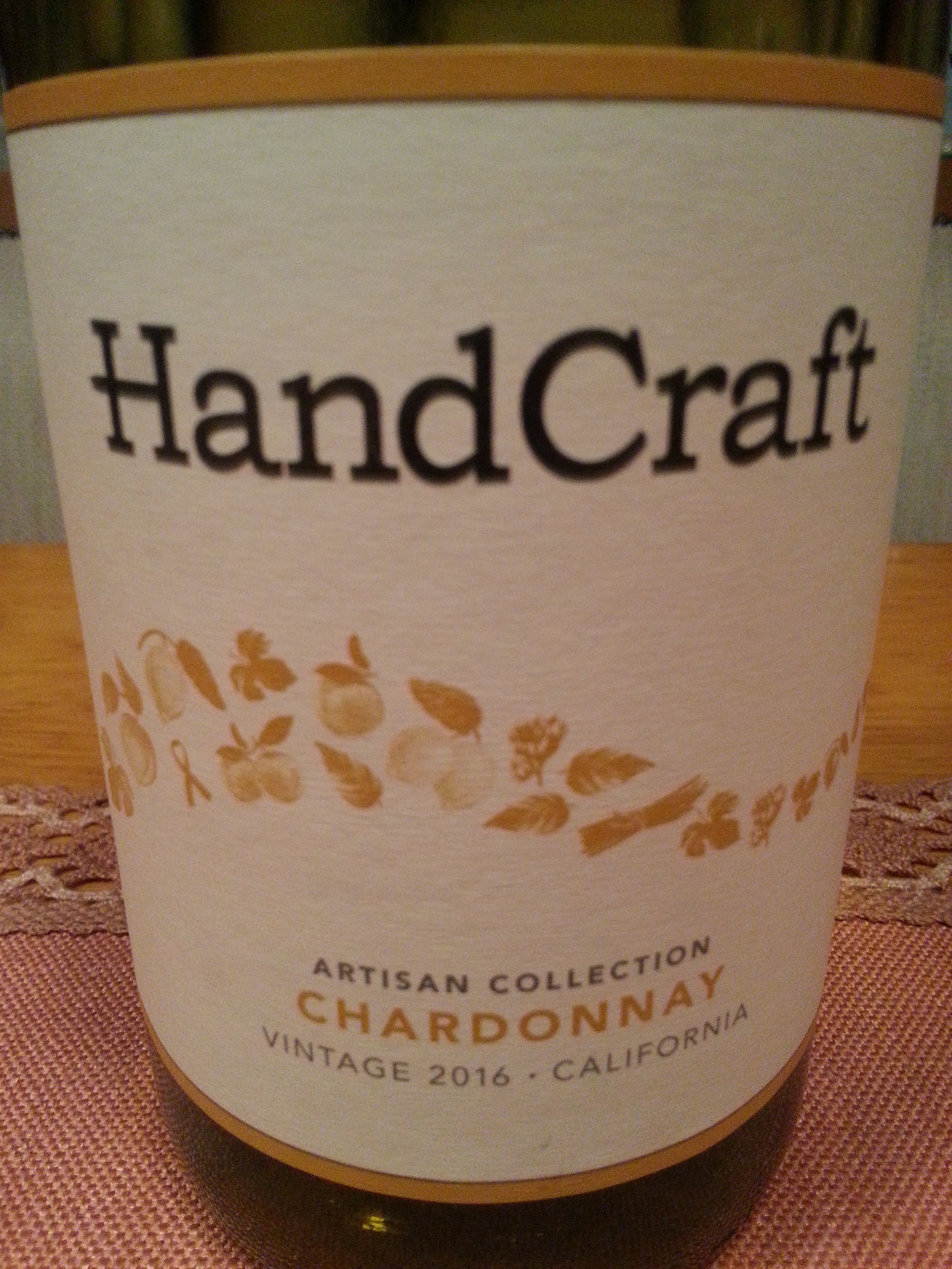 2016 Chardonnay Artisan Collection | HandCraft Wines