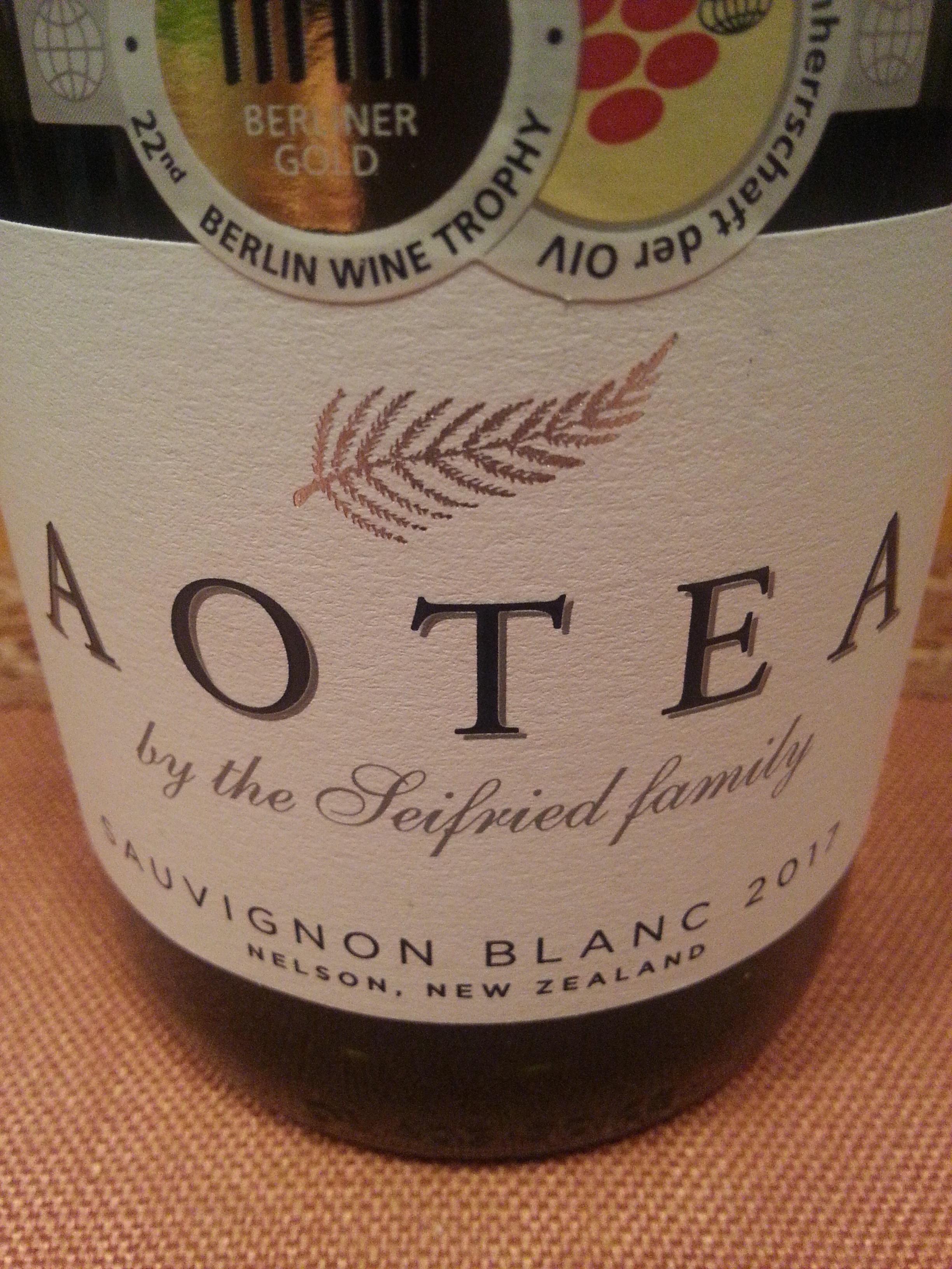 2017 Sauvignon Blanc Aotea | Seifried