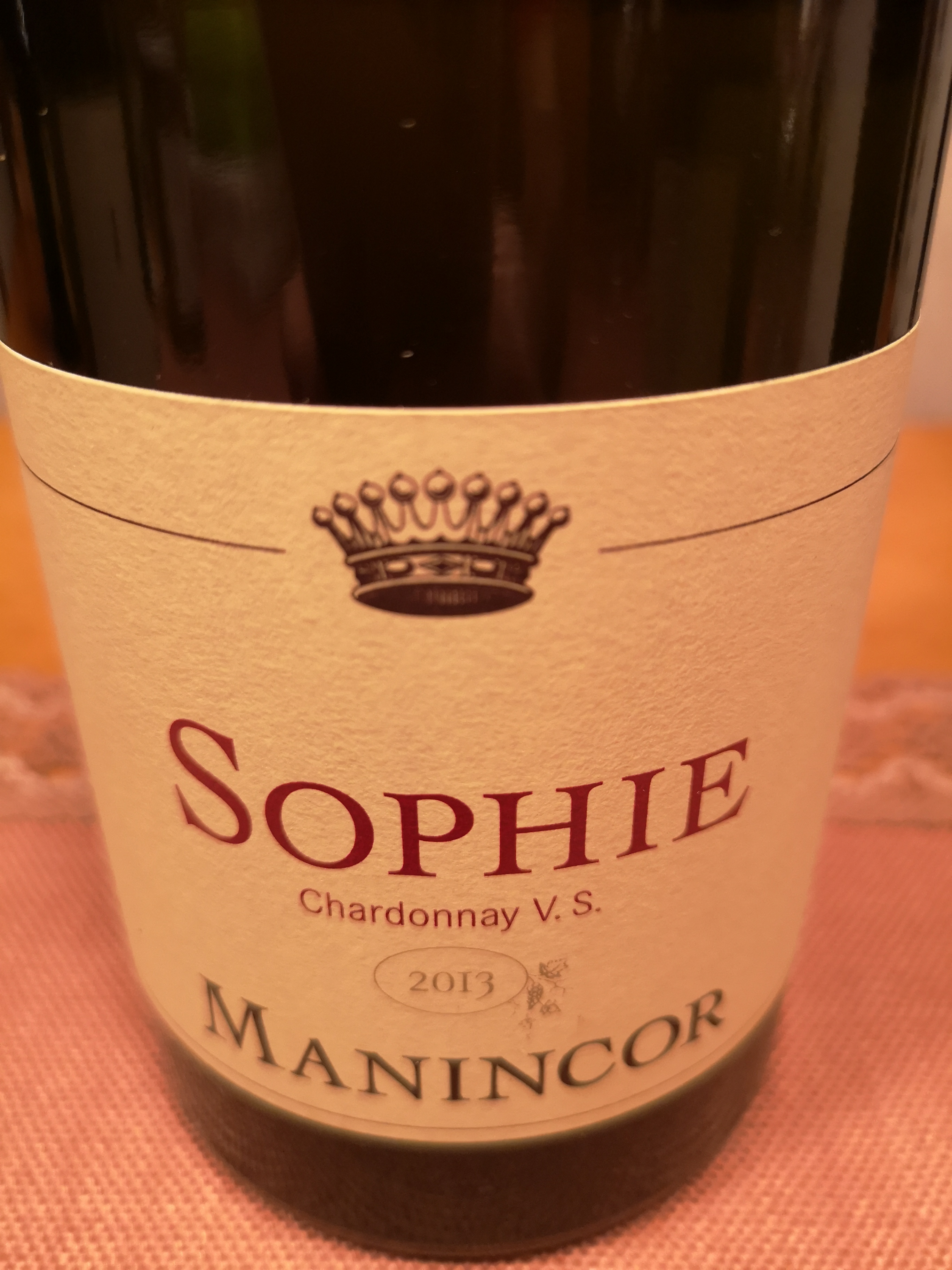 2013 Chardonnay Sophie | Manincor