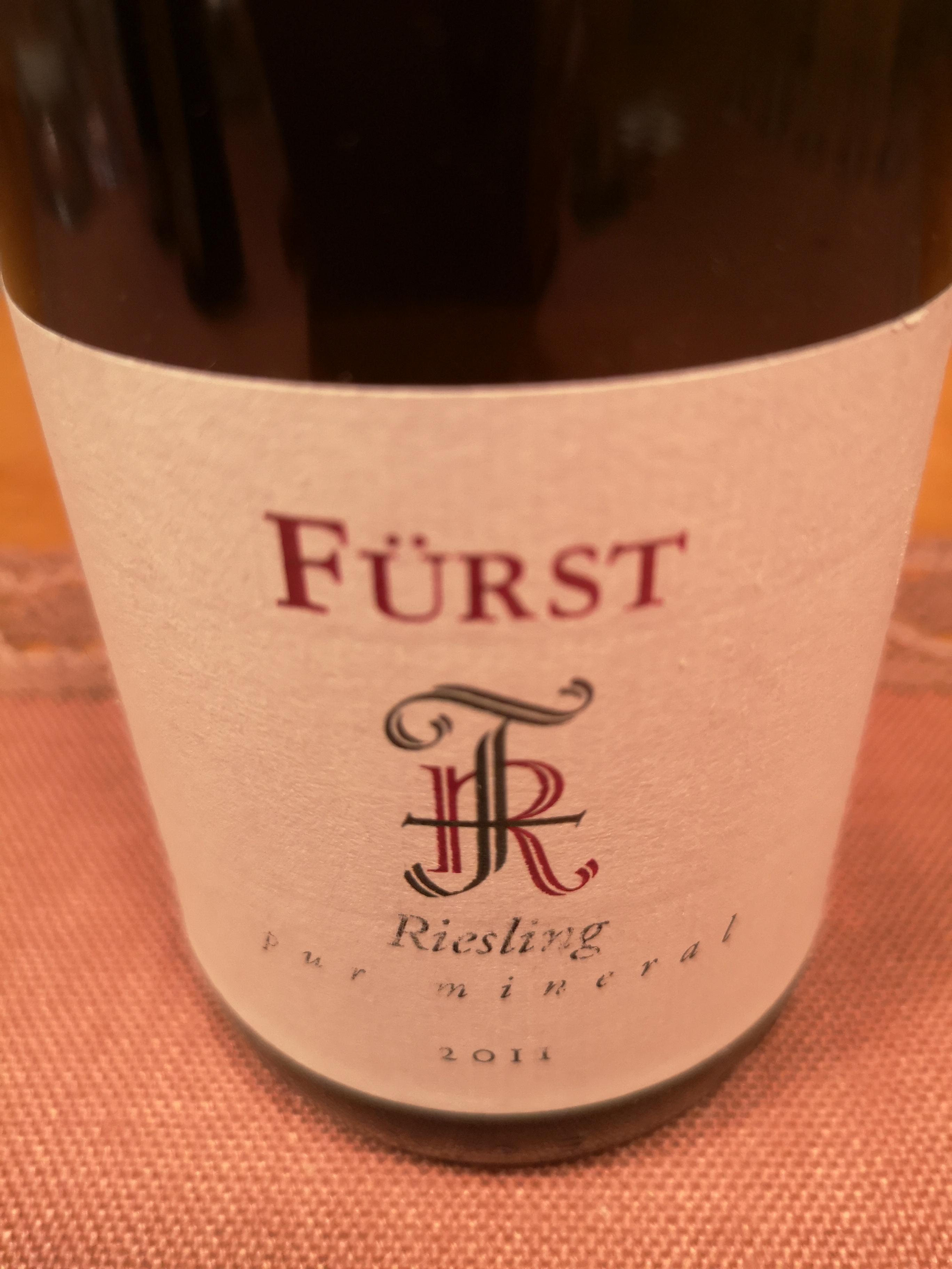 2011 Riesling pur mineral | Fürst