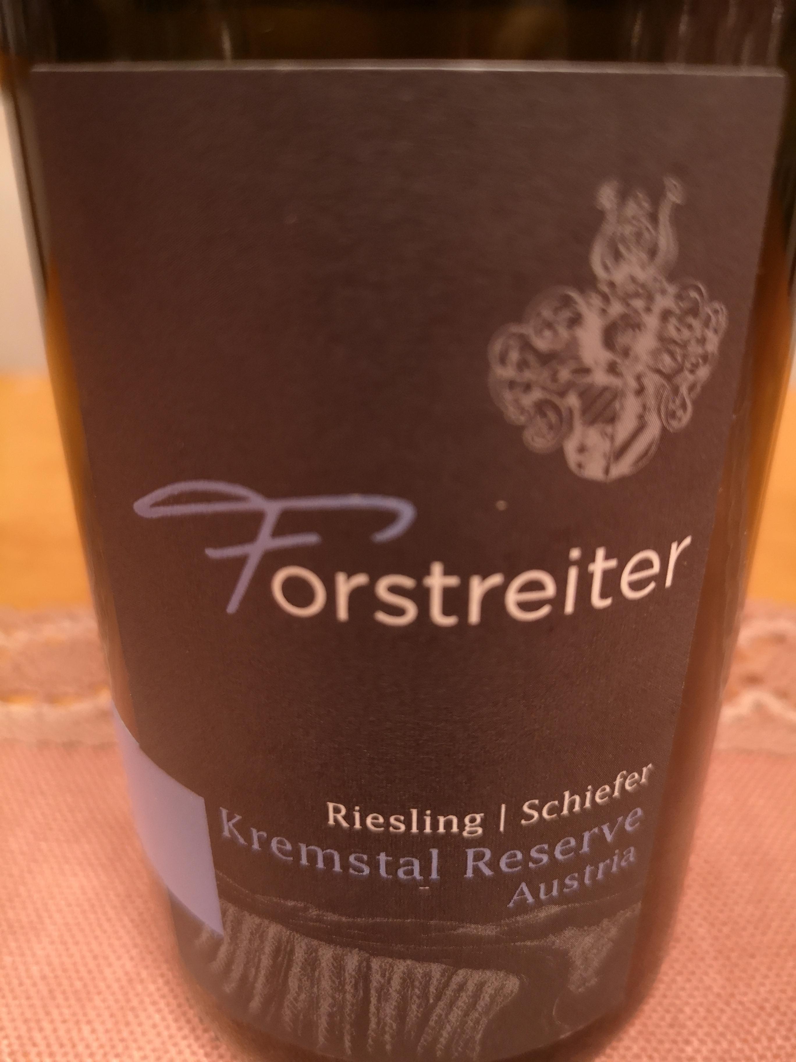 2016 Riesling Schiefer Kremstal Reserve | Forstreiter