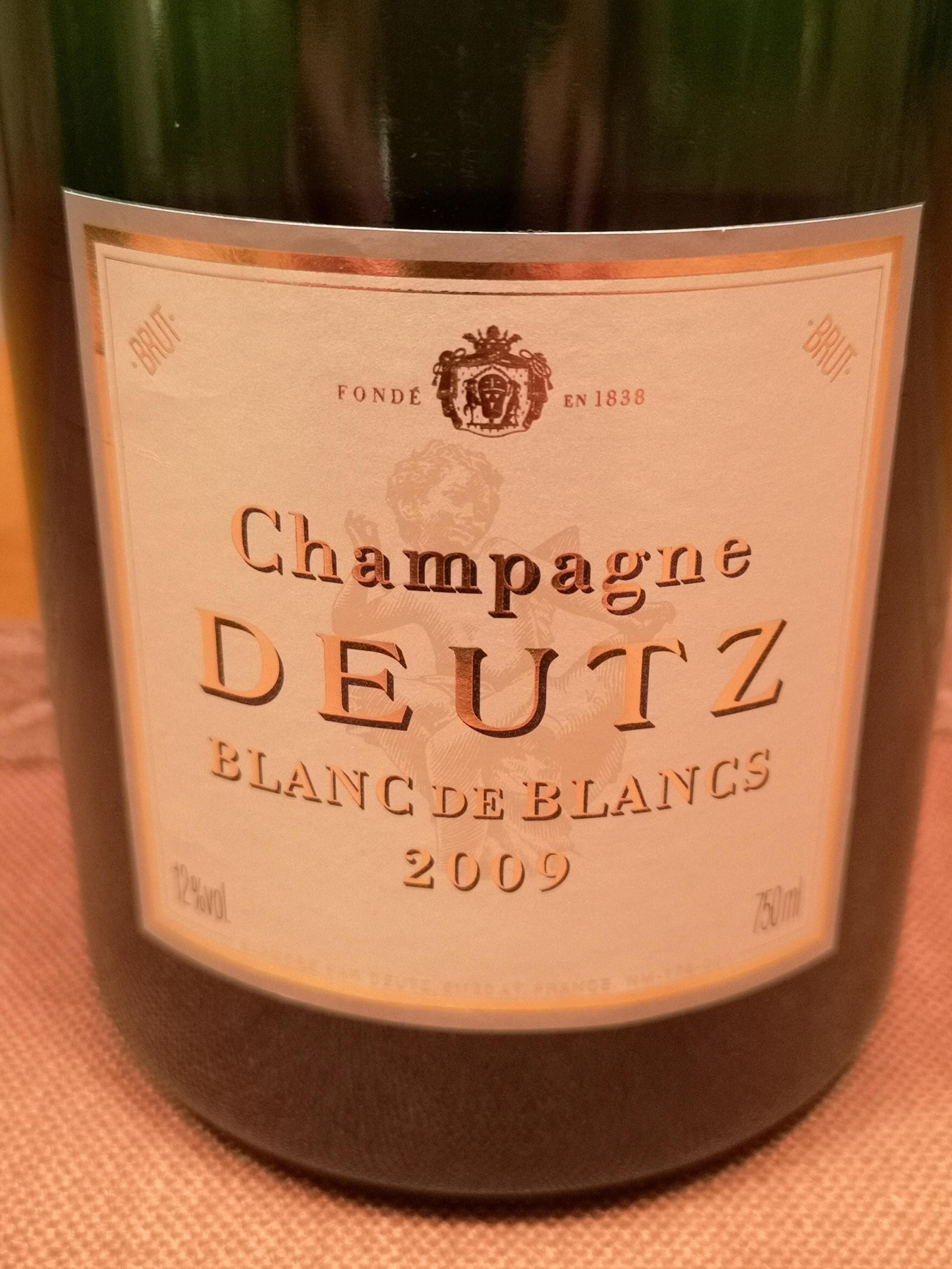2009 Champagne blanc de blancs | Deutz