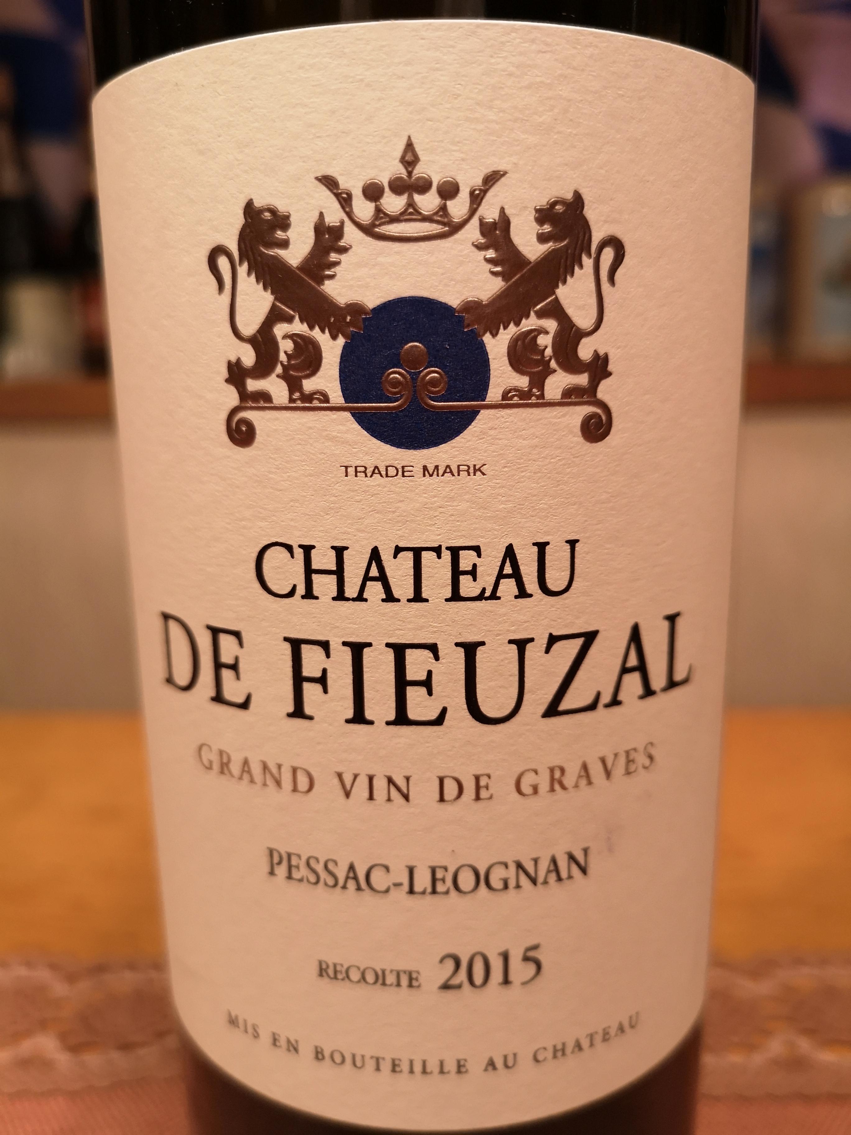 2015 Château de Fieuzal blanc | Château de Fieuzal