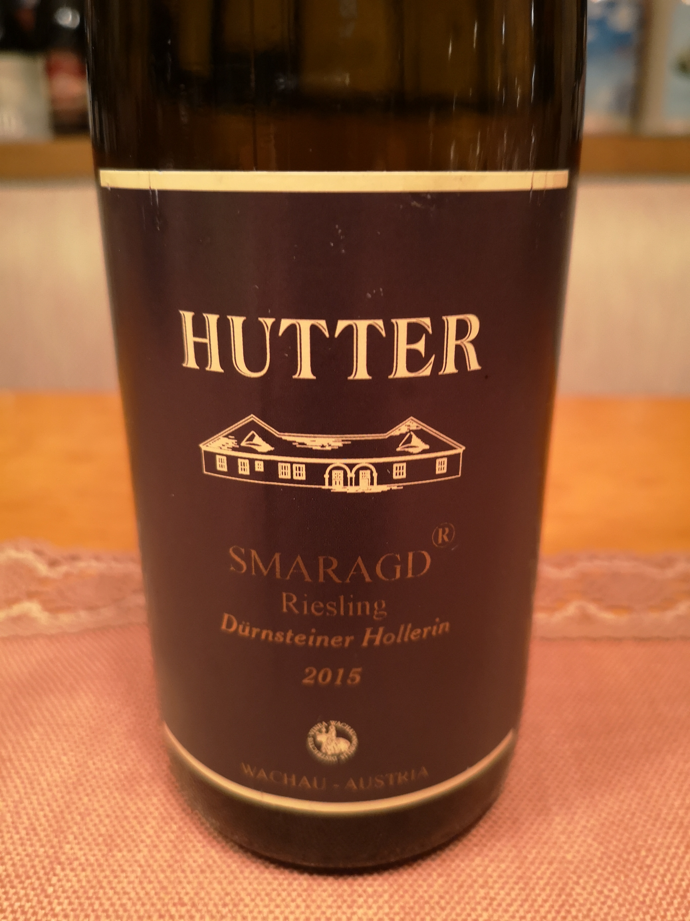 2015 Riesling Smaragd Dürnsteiner Hollerin | Hutter
