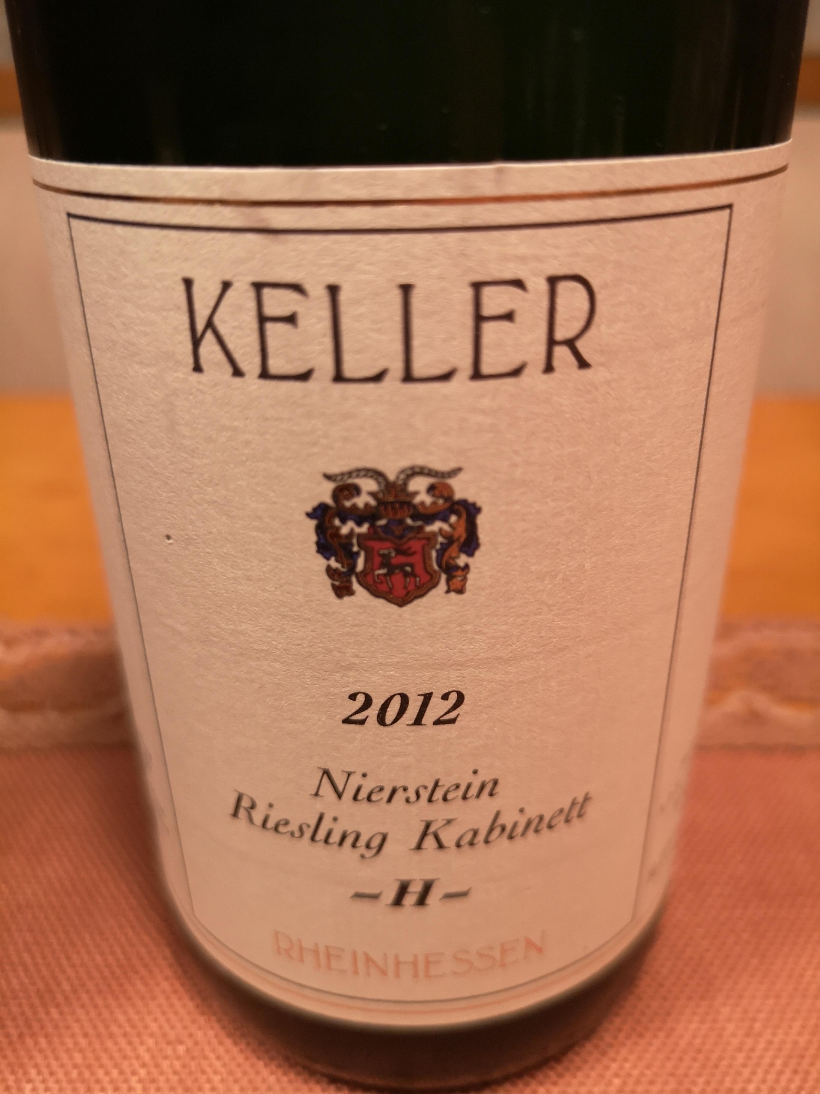 2012 Riesling Kabinett Nierstein H | Keller