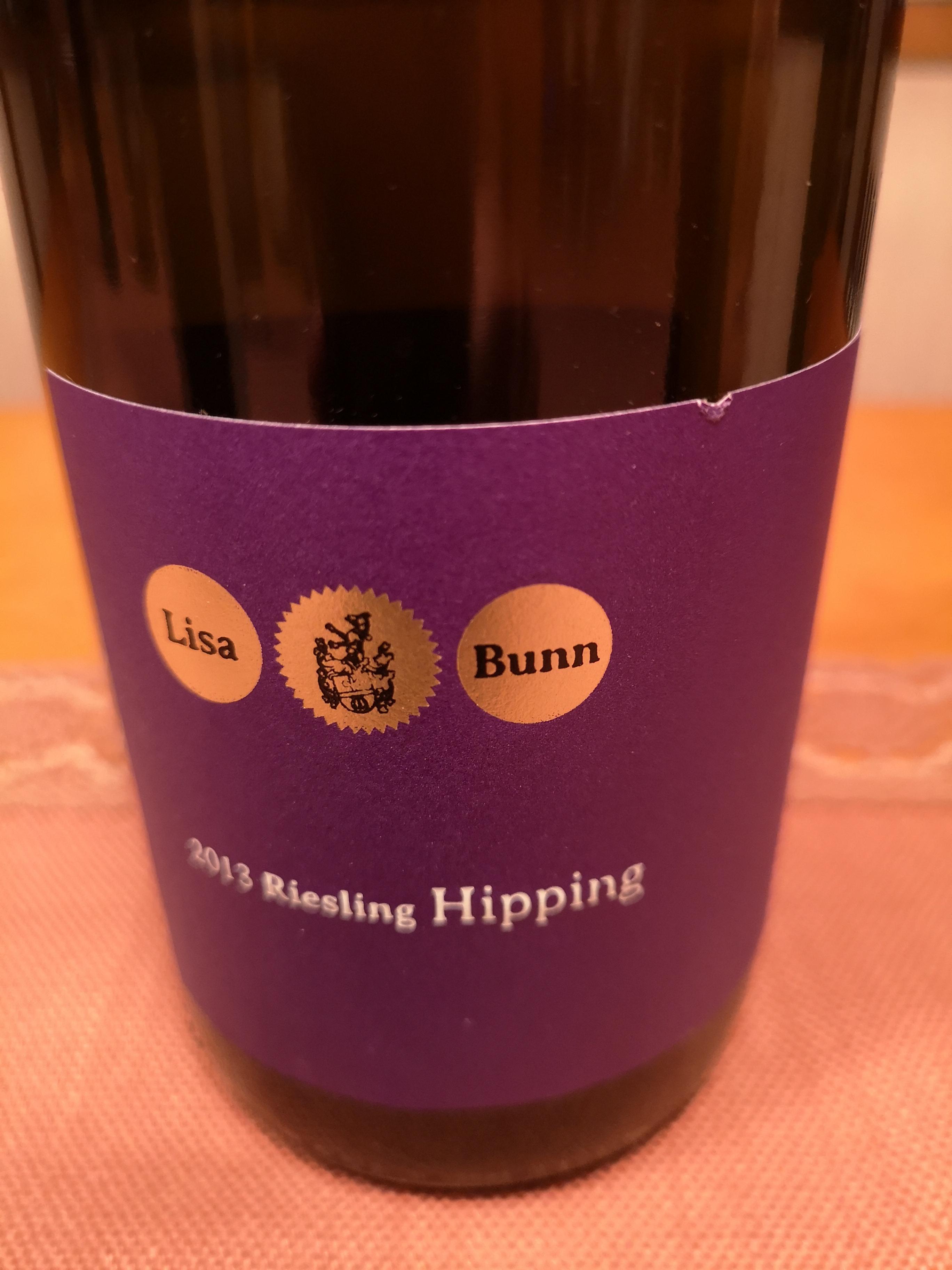 2013 Riesling Hipping   Lisa Bunn