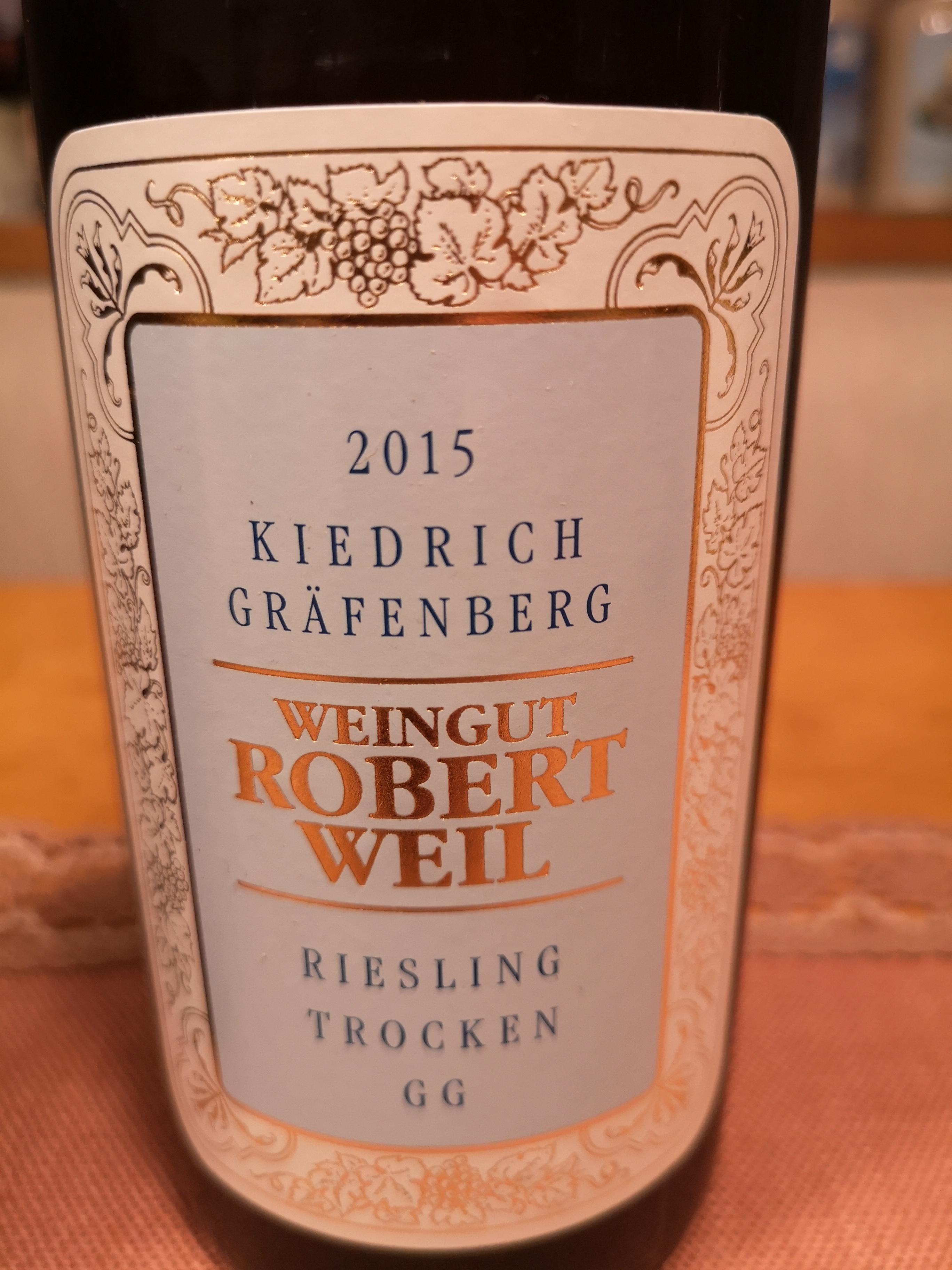 2015 Riesling Gräfenberg GG   Weil