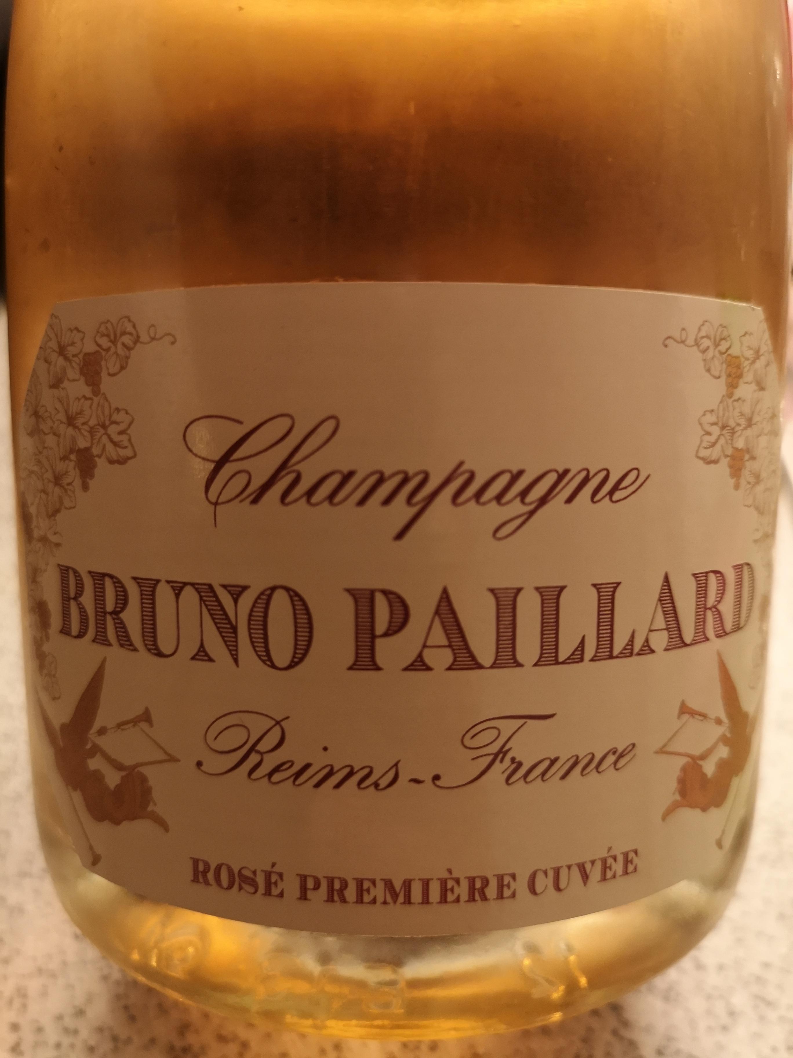 -nv- Champagne Extra Brut Rosé Première Cuvée – Bruno Paillard