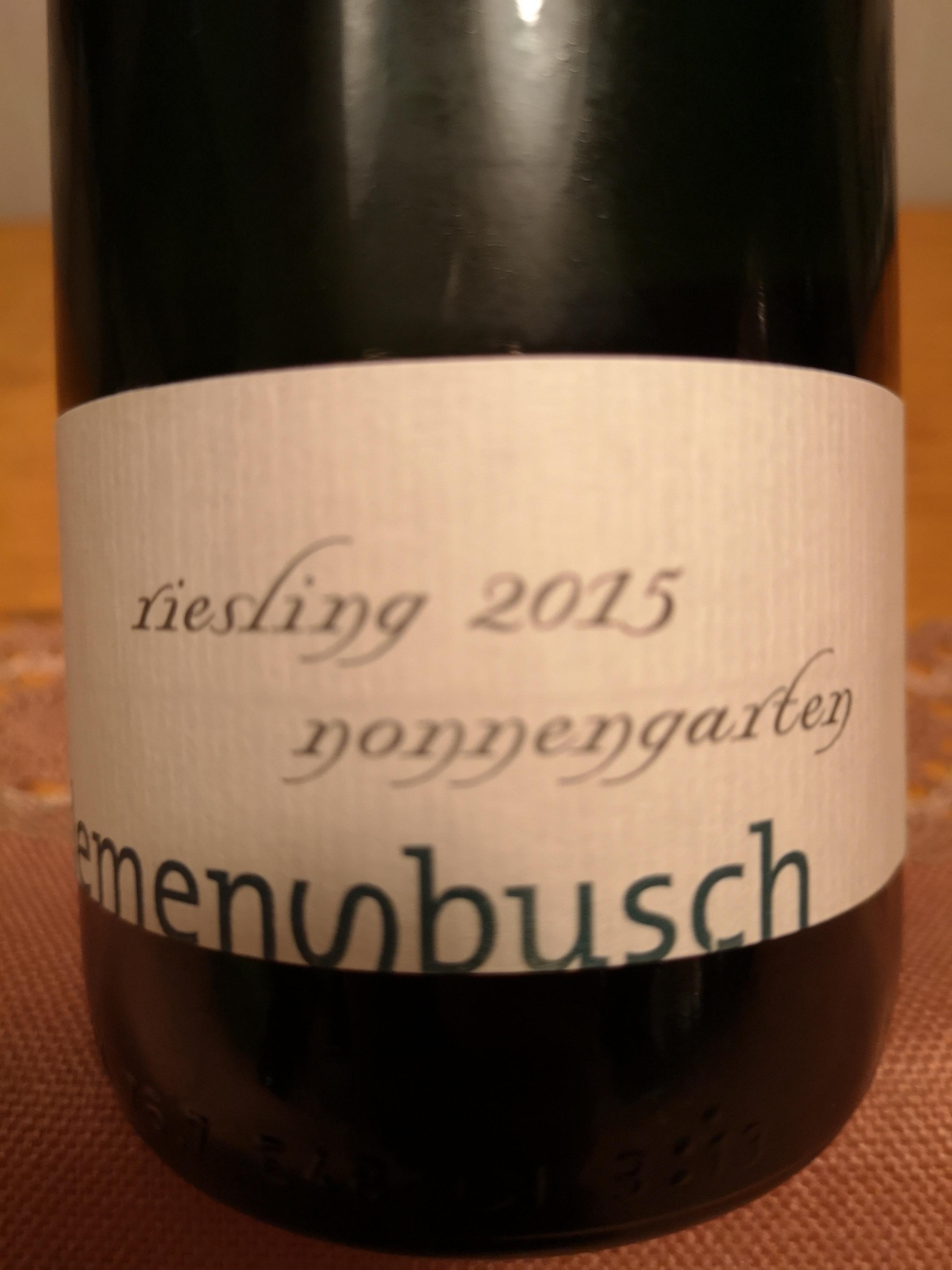 2015 Riesling Nonnengarten | Clemens Busch