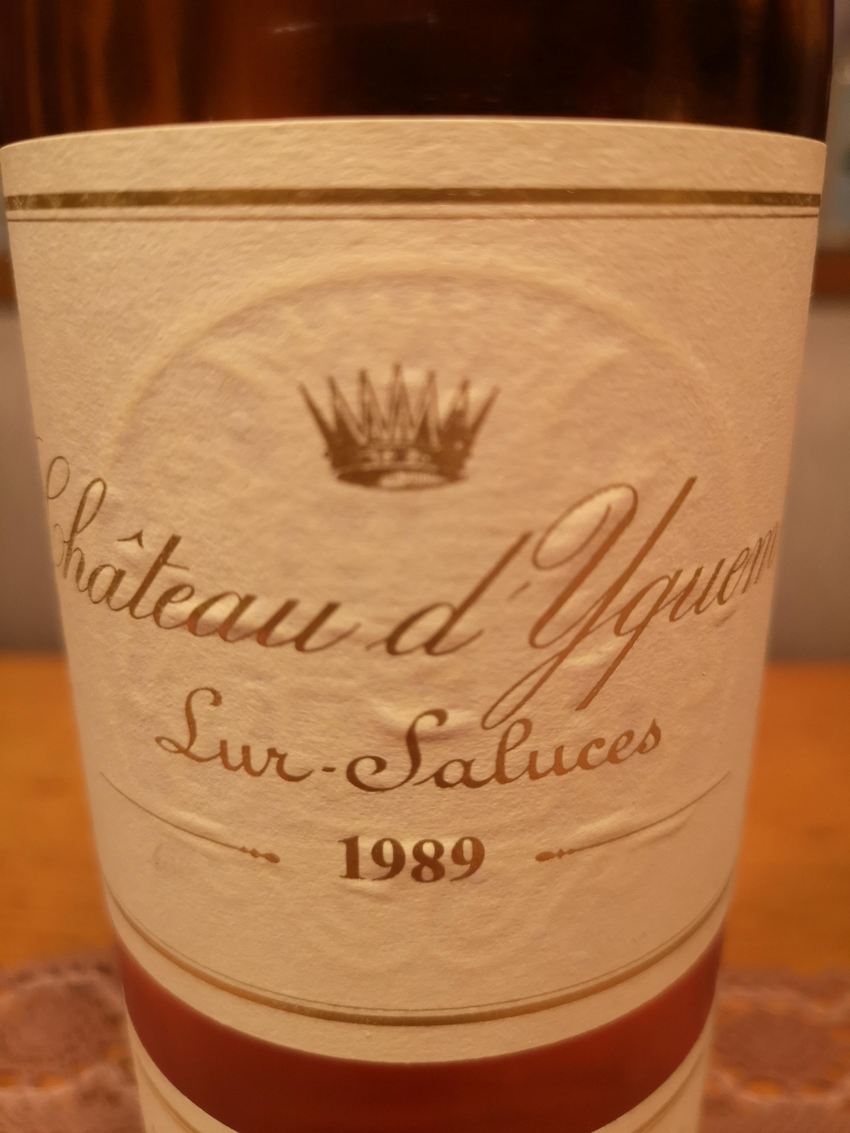 1989 Château d'Yquem – Château d'Yquem