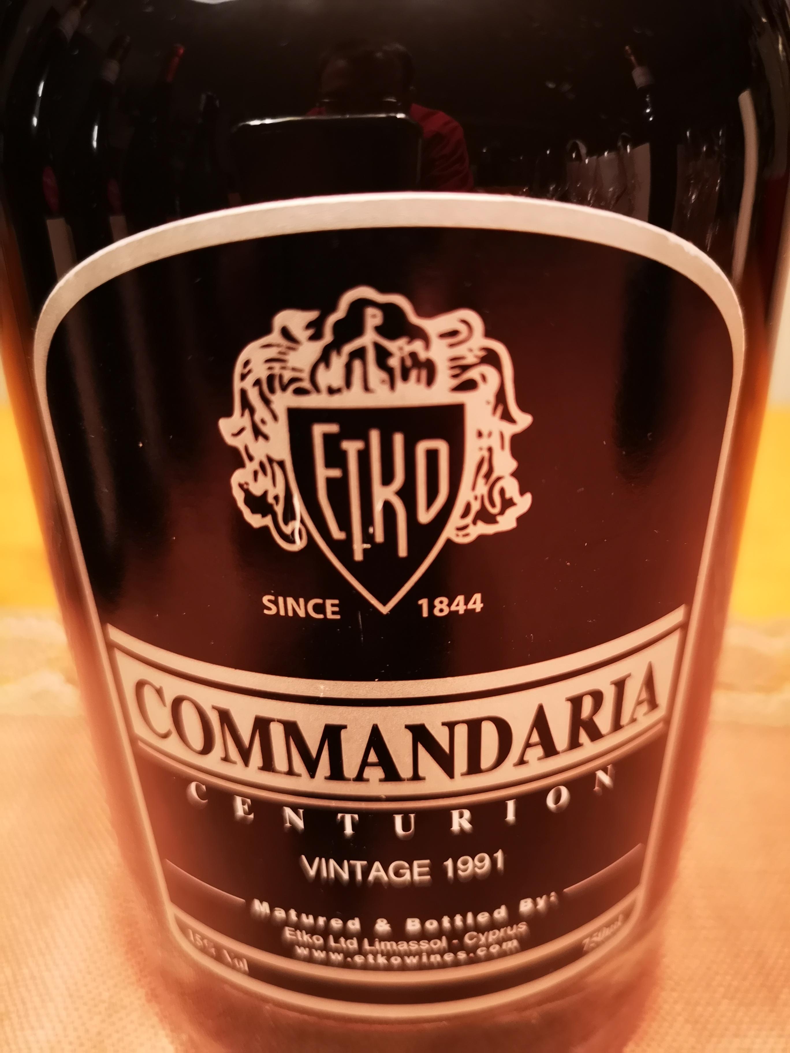1991 Commandaria Centurion | Etko