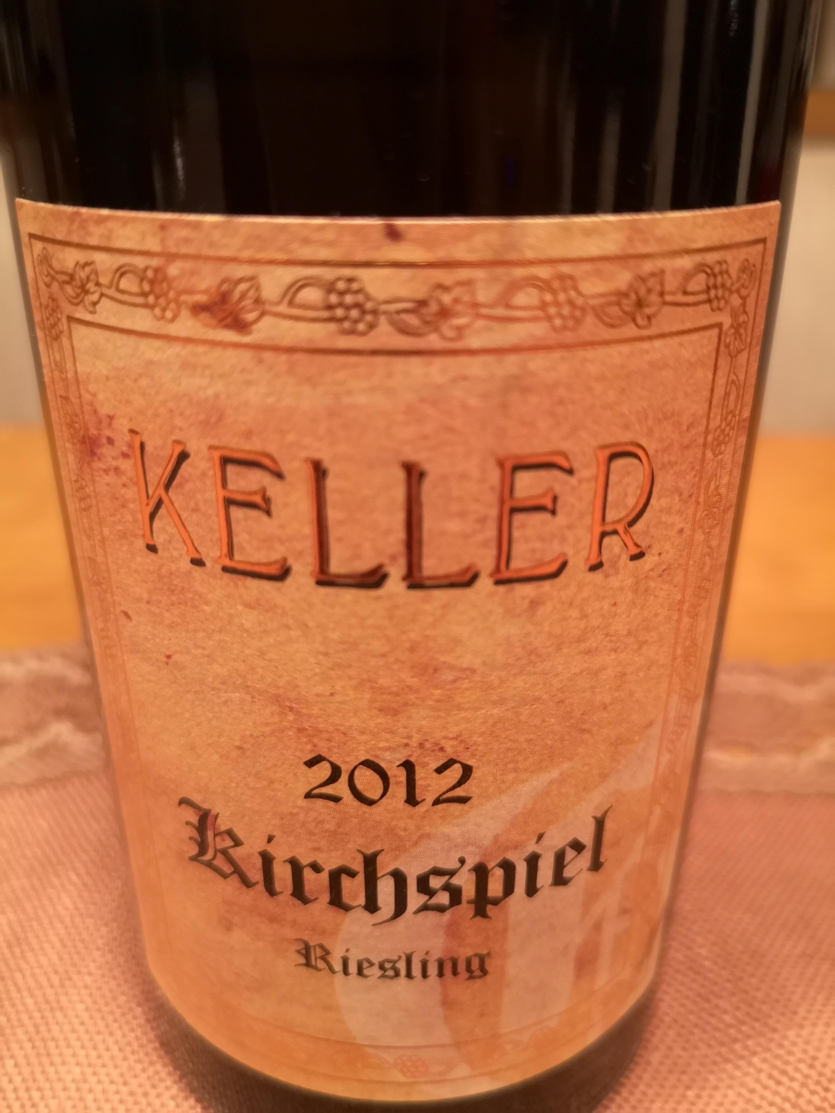 2012 Riesling Kirchspiel GG | Keller